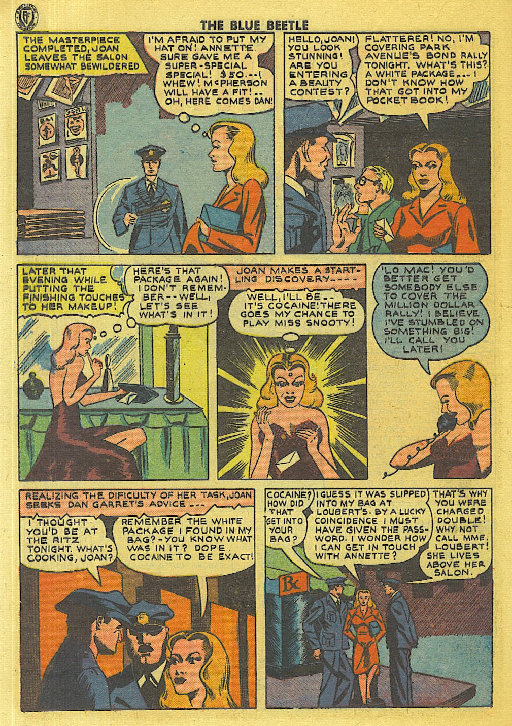 The Blue Beetle issue 35 - Page 25