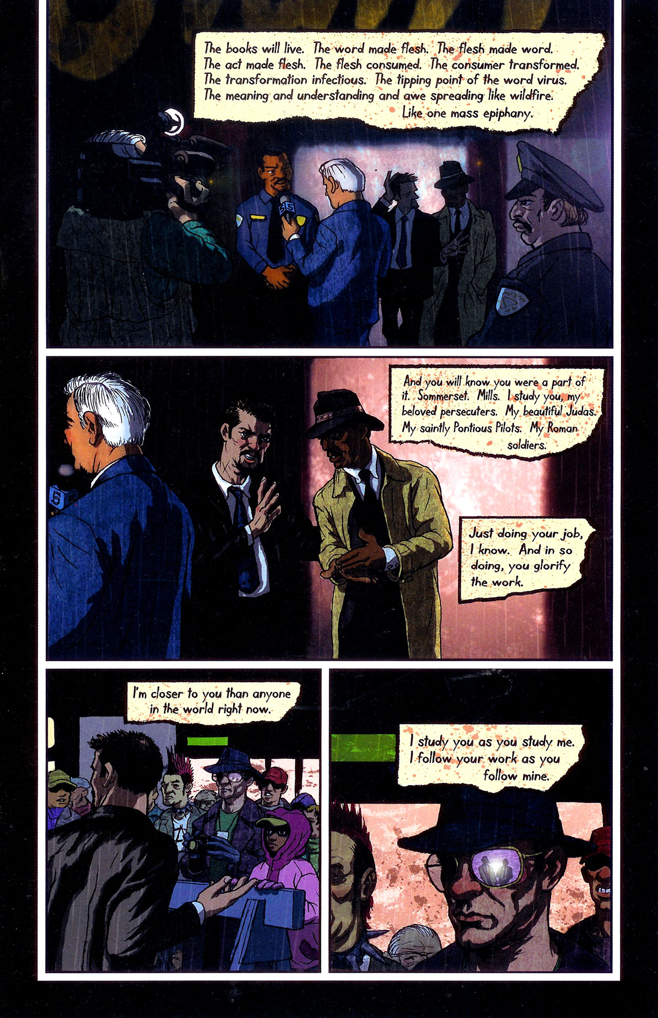 Read online Se7en comic -  Issue #6 - 11