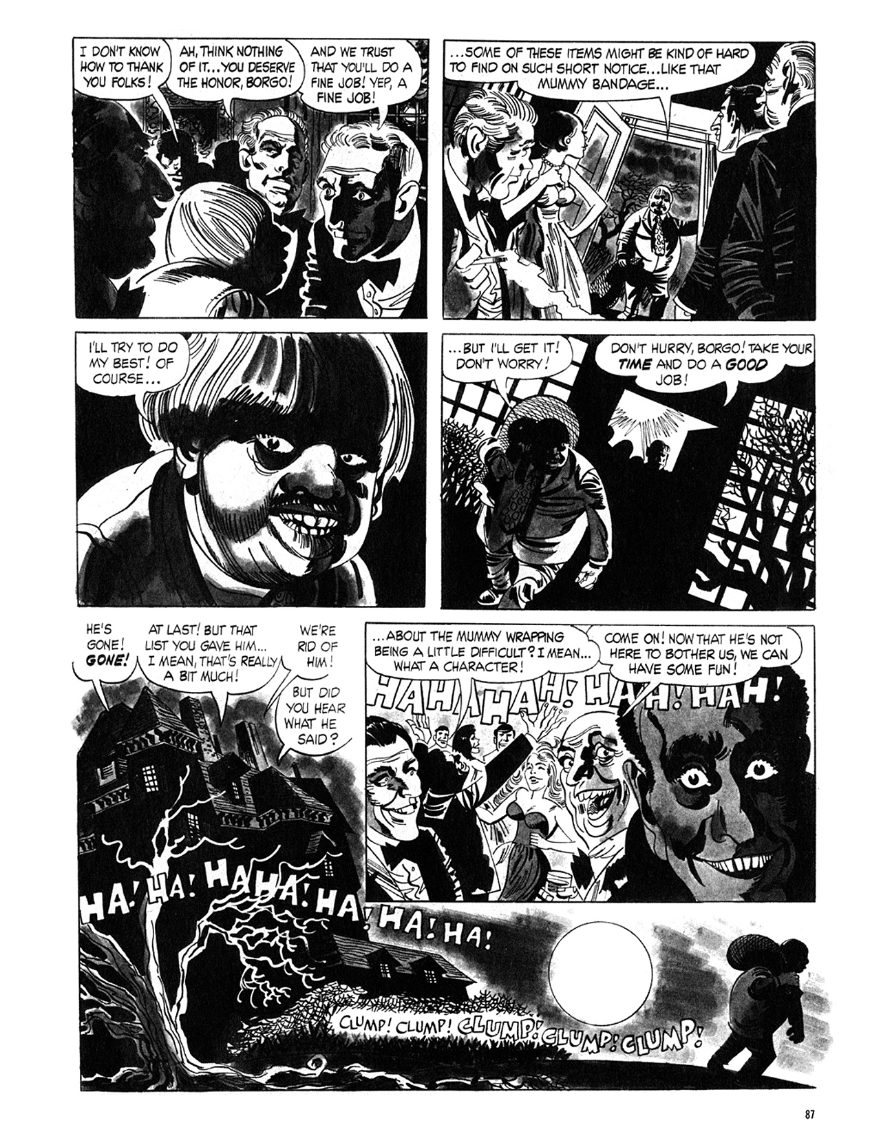 Read online Eerie Archives comic -  Issue # TPB 5 - 88