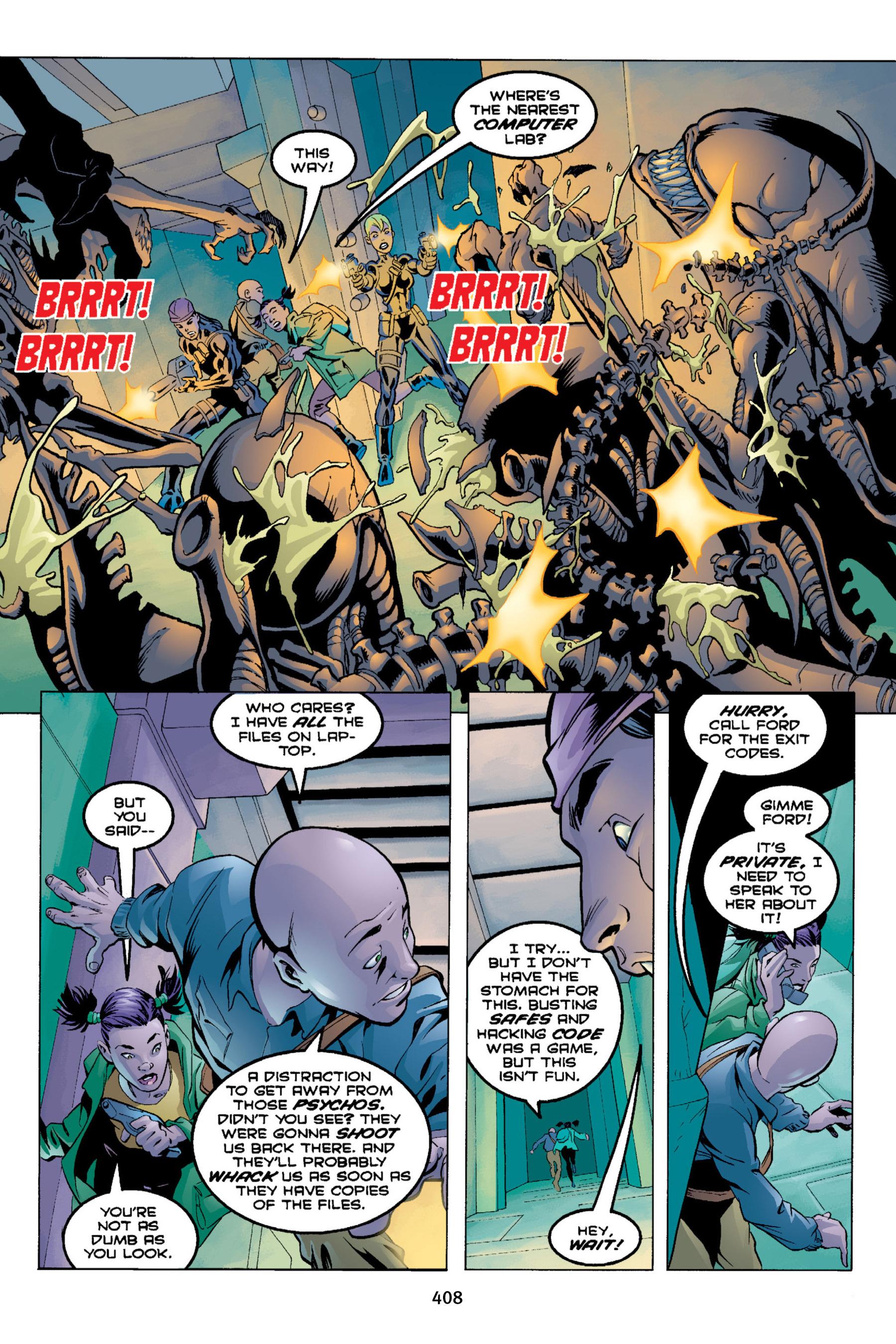 Read online Aliens vs. Predator Omnibus comic -  Issue # _TPB 2 Part 4 - 72