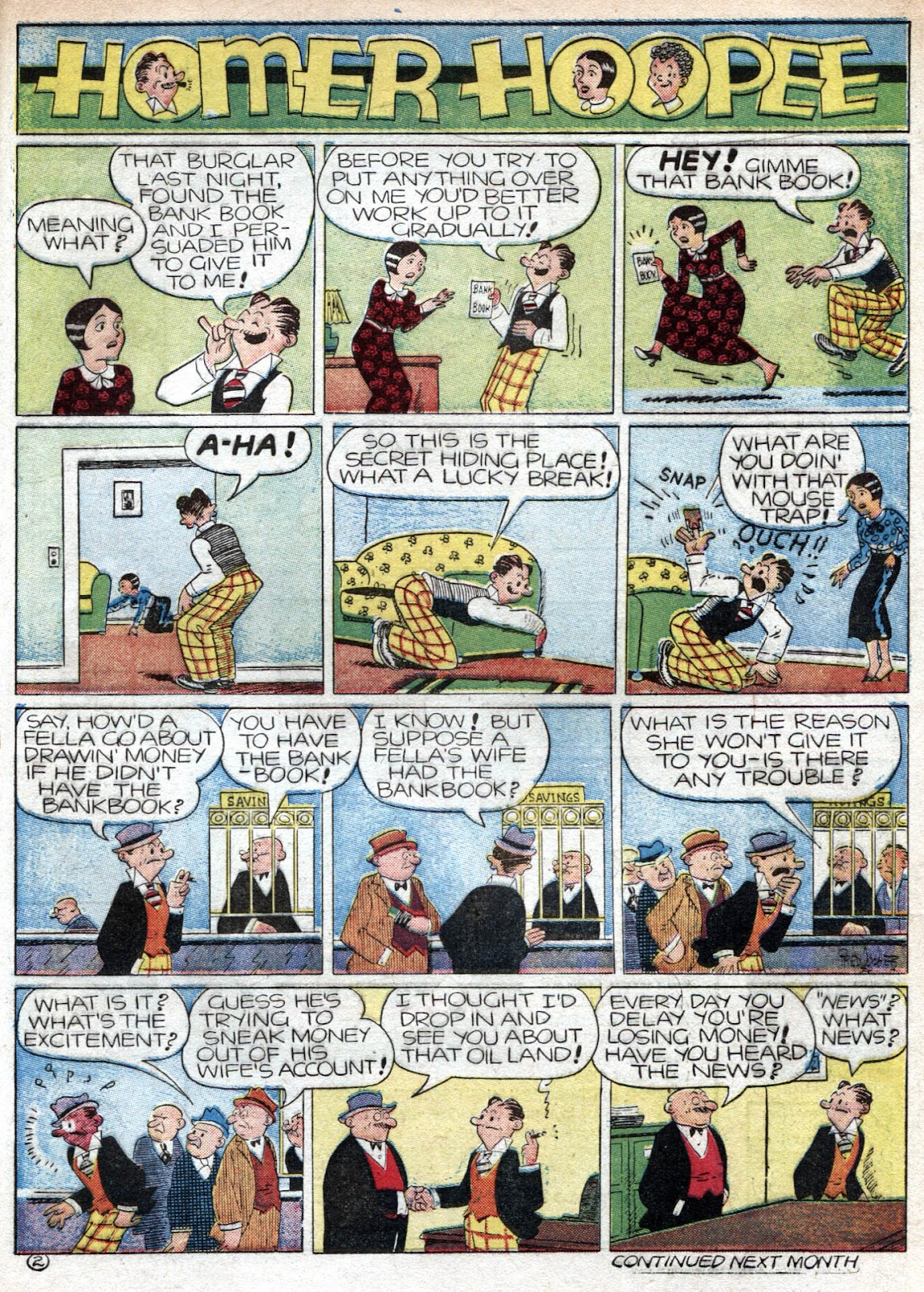 Read online Famous Funnies comic -  Issue #80 - 63