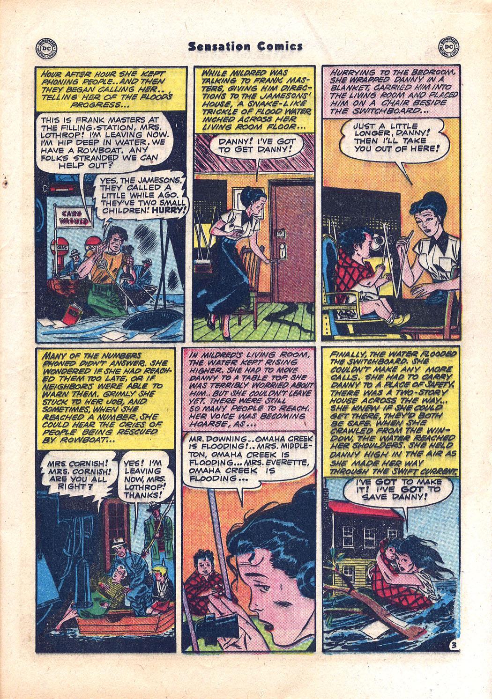 Read online Sensation (Mystery) Comics comic -  Issue #94 - 19