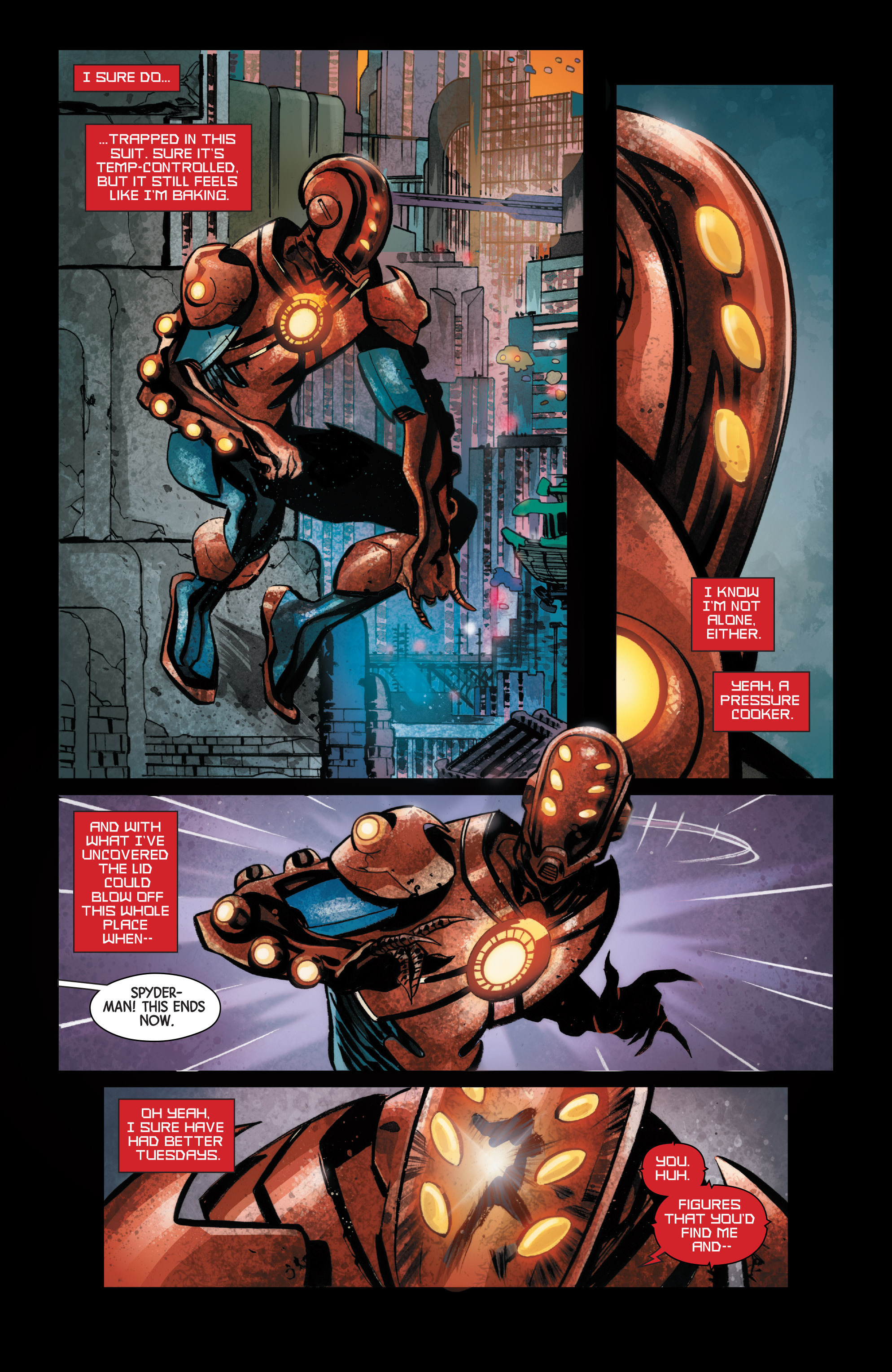 Read online Armor Wars comic -  Issue #1 - 8