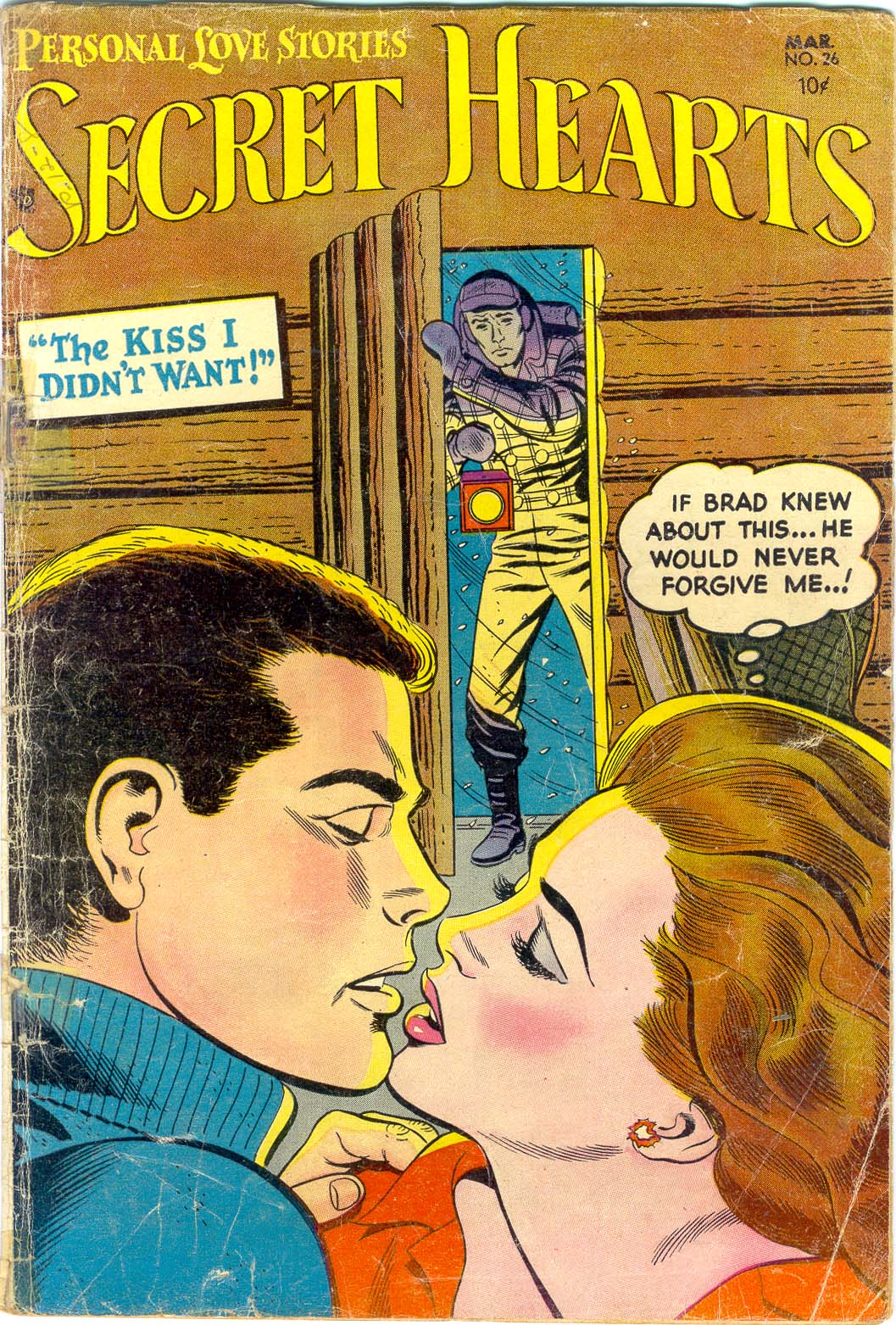 Read online Secret Hearts comic -  Issue #26 - 1