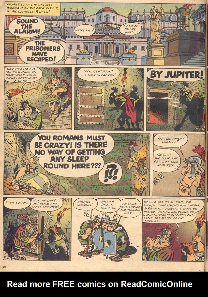 Read online Asterix comic -  Issue #18 - 30