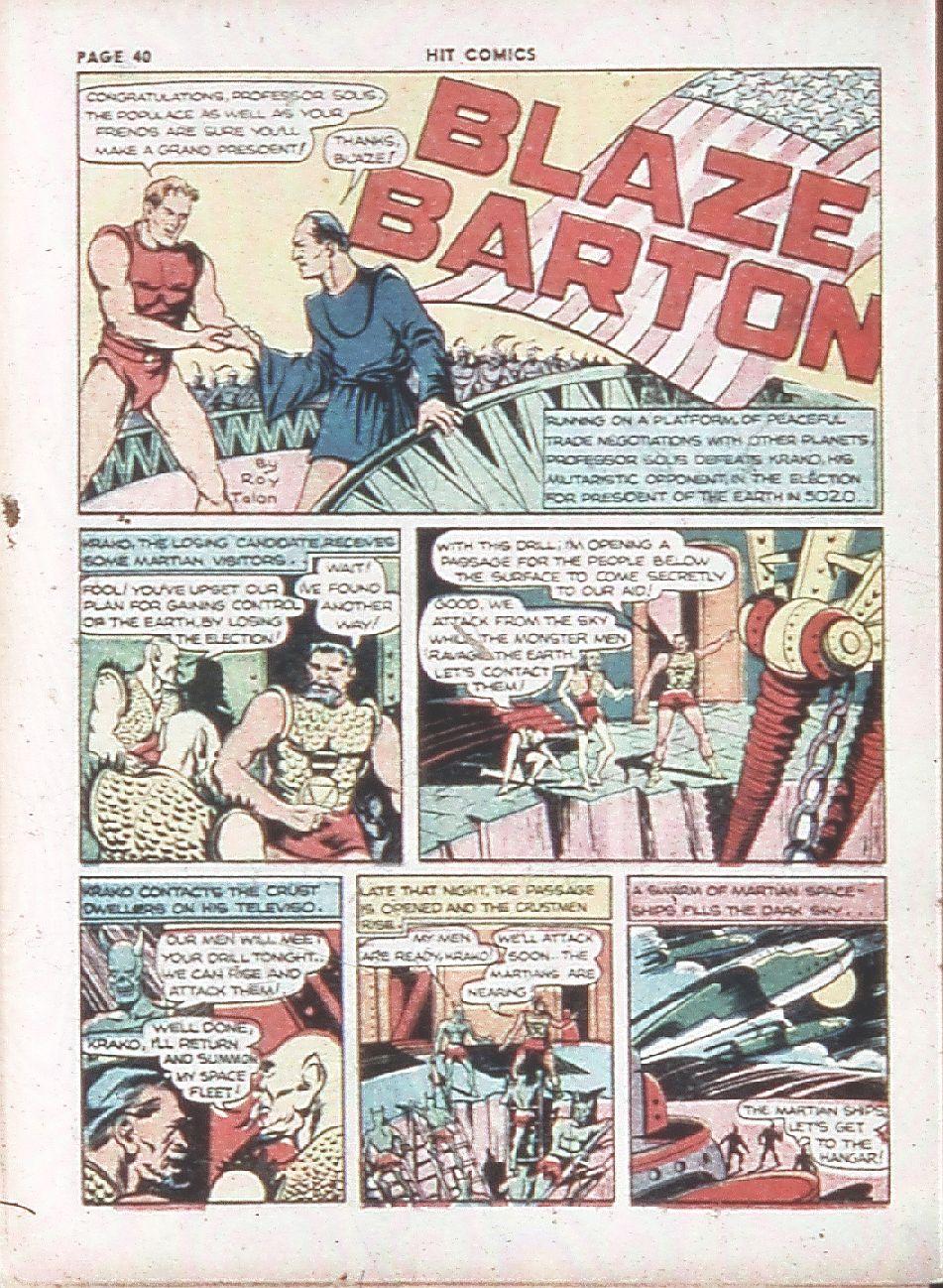 Read online Hit Comics comic -  Issue #7 - 42