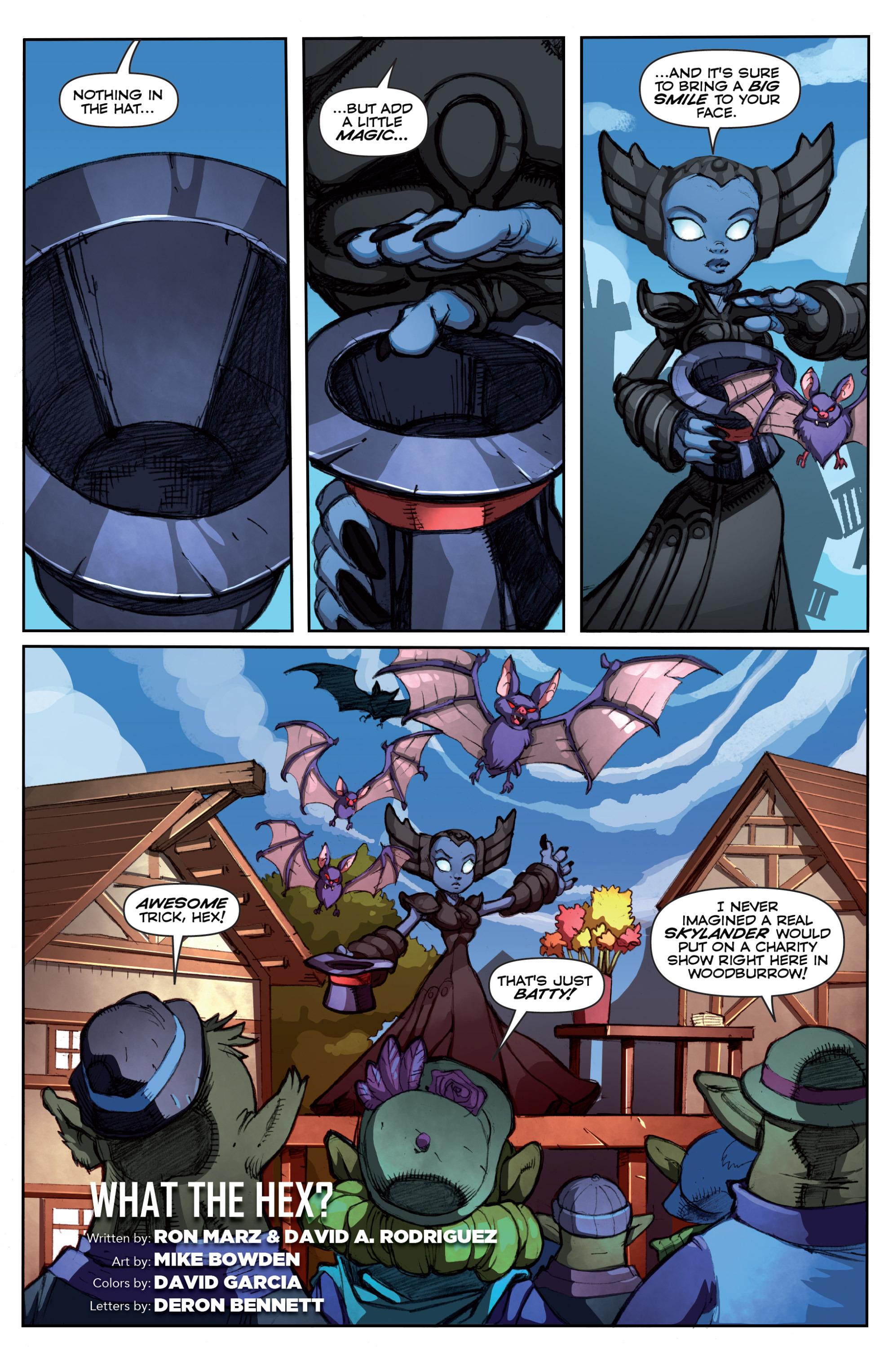 Read online Skylanders comic -  Issue #5 - 19