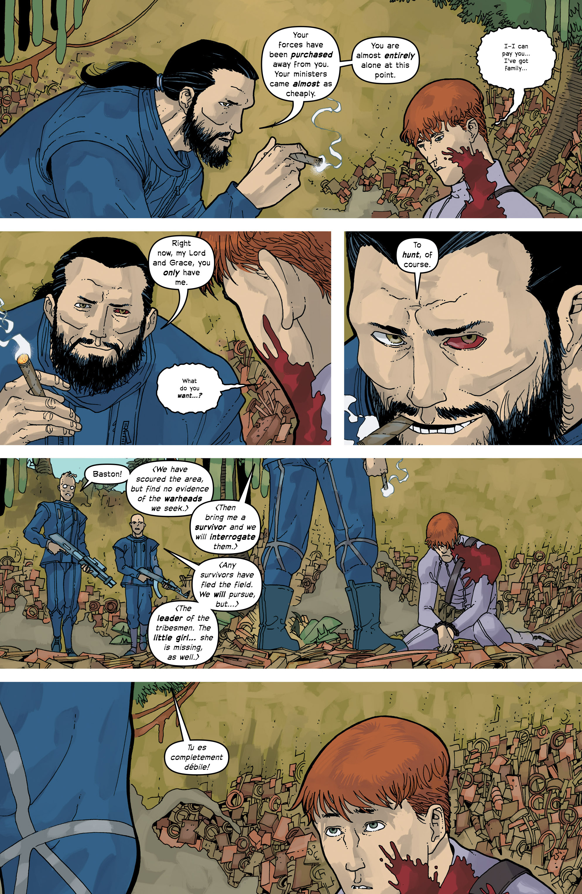 Read online Great Pacific comic -  Issue #16 - 8