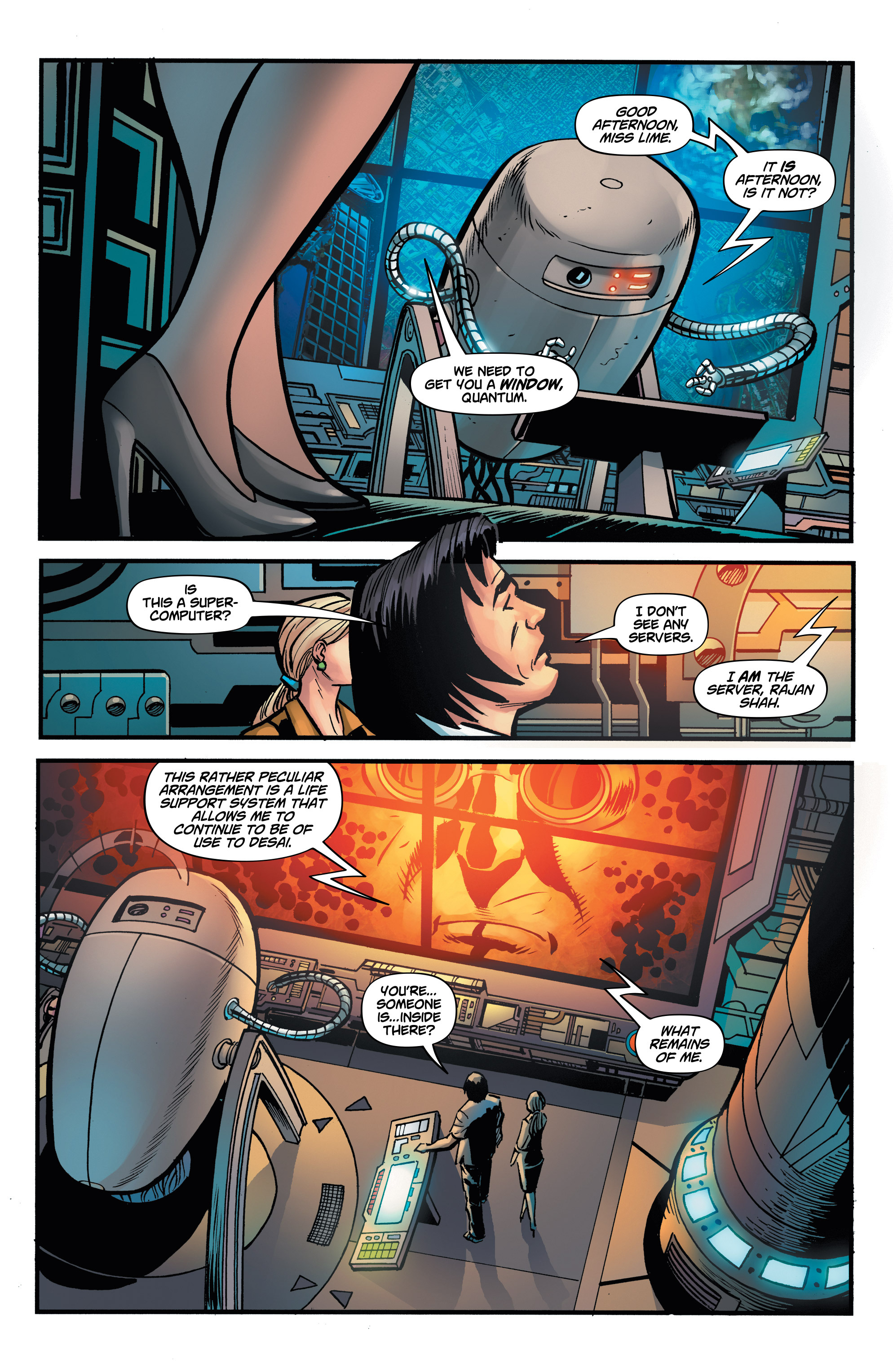 Read online Shadow Tiger comic -  Issue #2 - 14