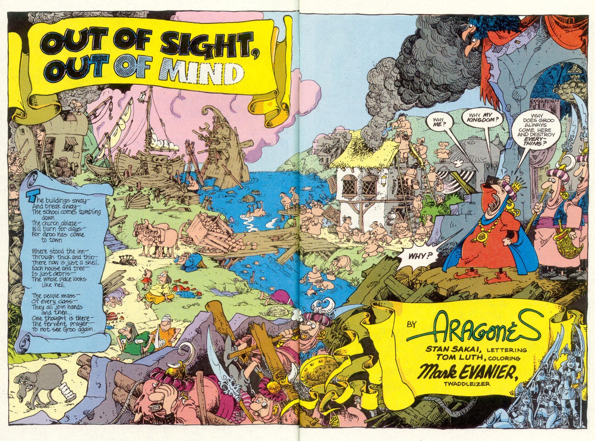 Read online Sergio Aragonés Groo the Wanderer comic -  Issue #85 - 3