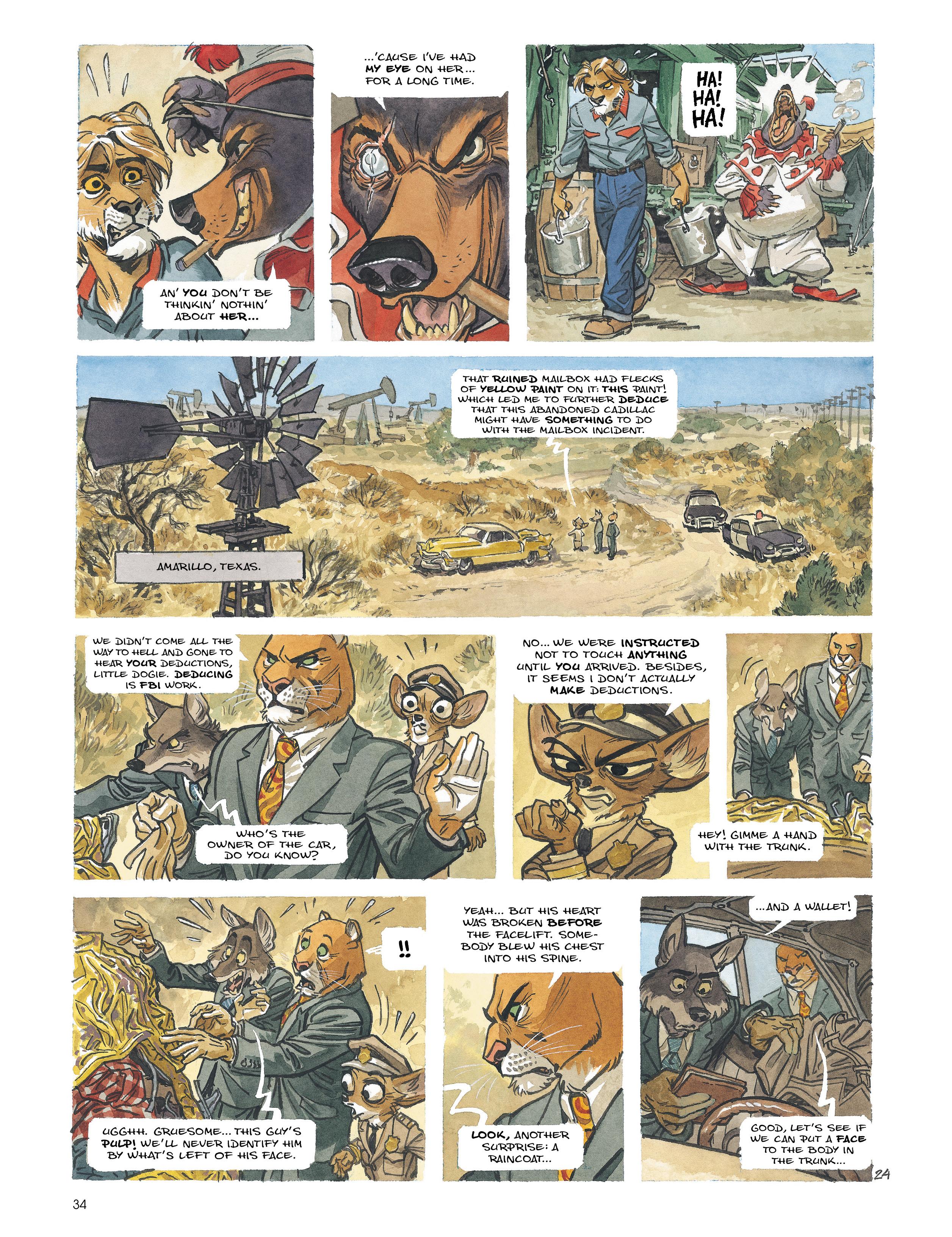 Read online Blacksad: Amarillo comic -  Issue # Full - 33