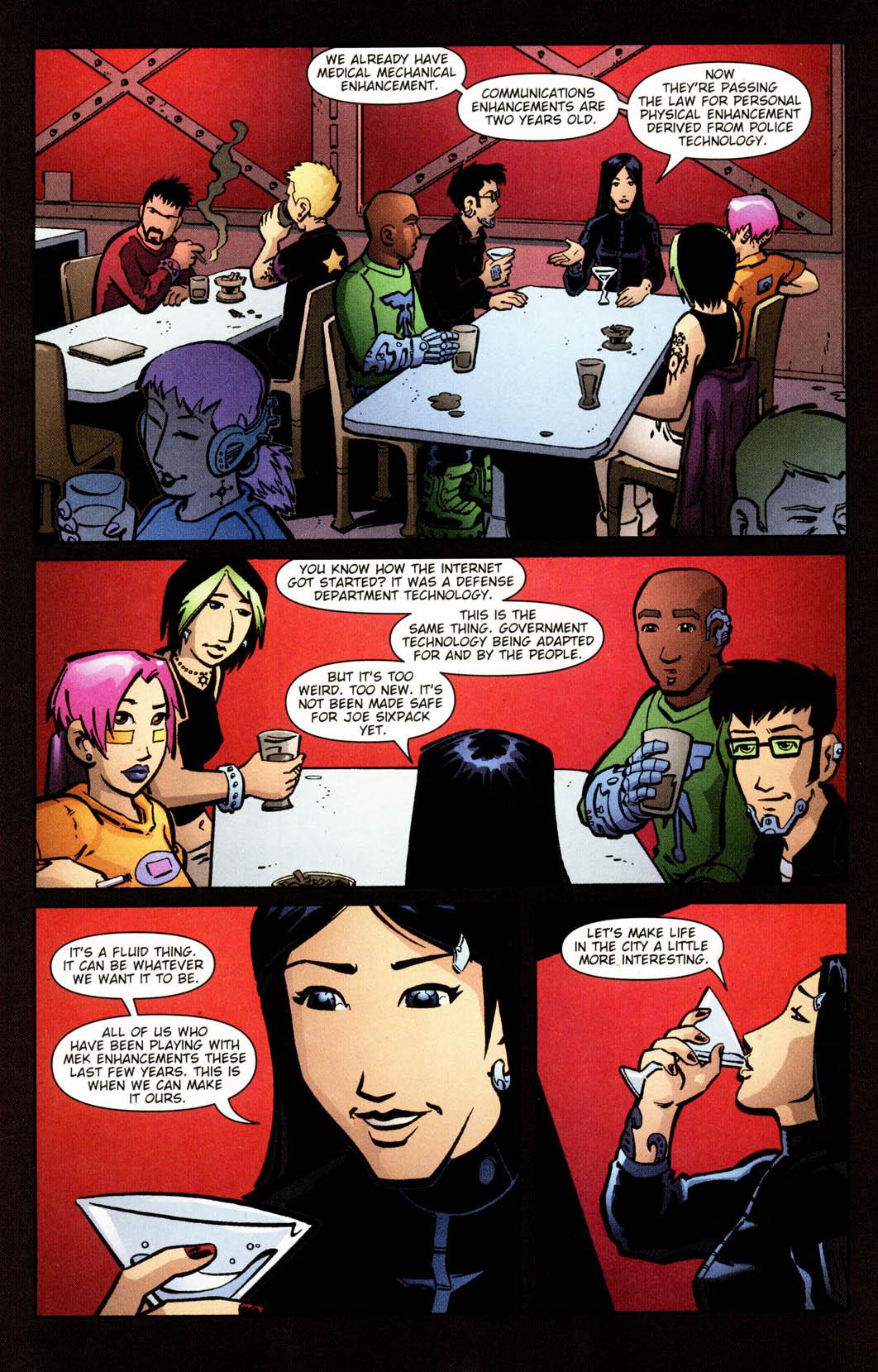 Read online Mek comic -  Issue #2 - 7