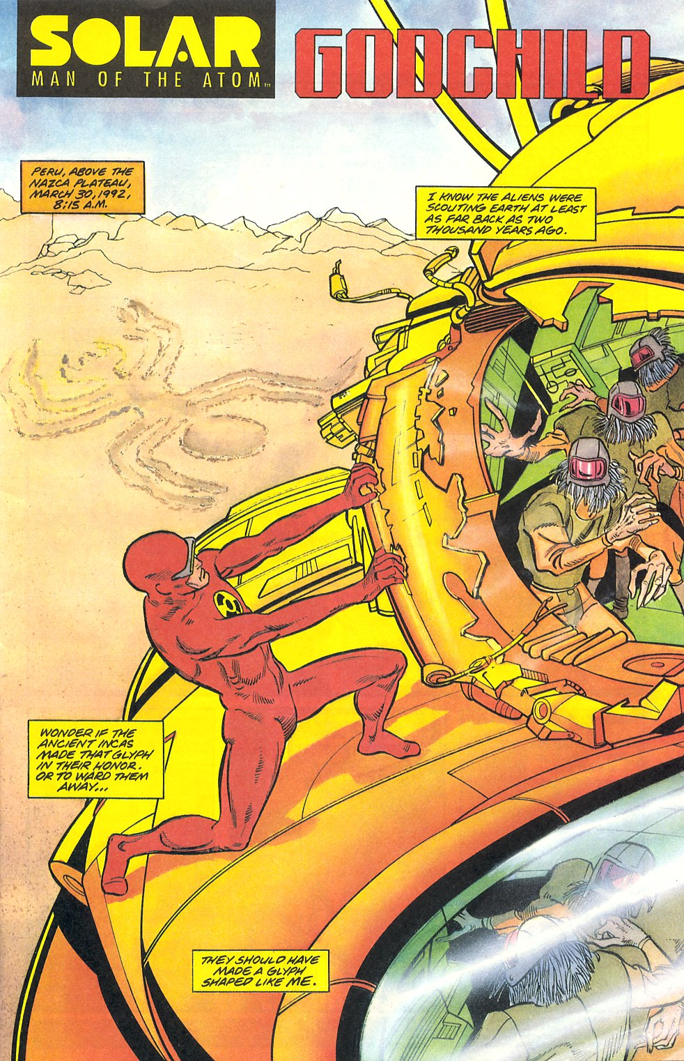Read online Solar, Man of the Atom comic -  Issue #9 - 3