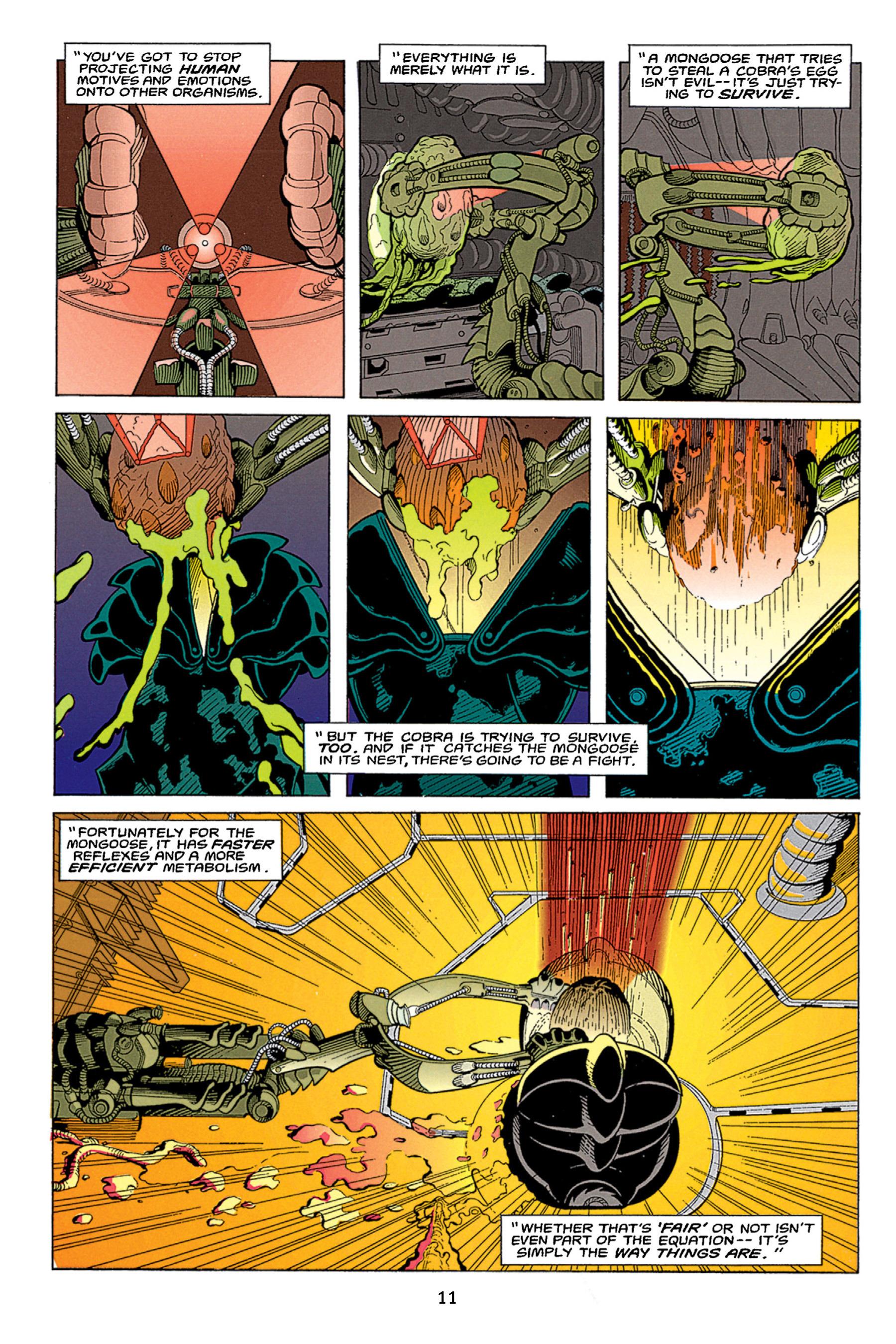 Read online Aliens vs. Predator Omnibus comic -  Issue # _TPB 1 Part 1 - 11