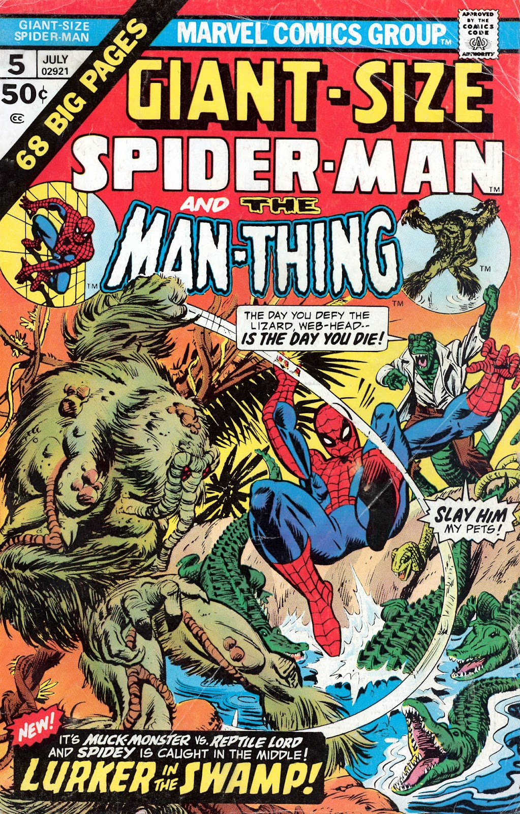 Giant-Size Spider-Man (1974) issue 5 - Page 1
