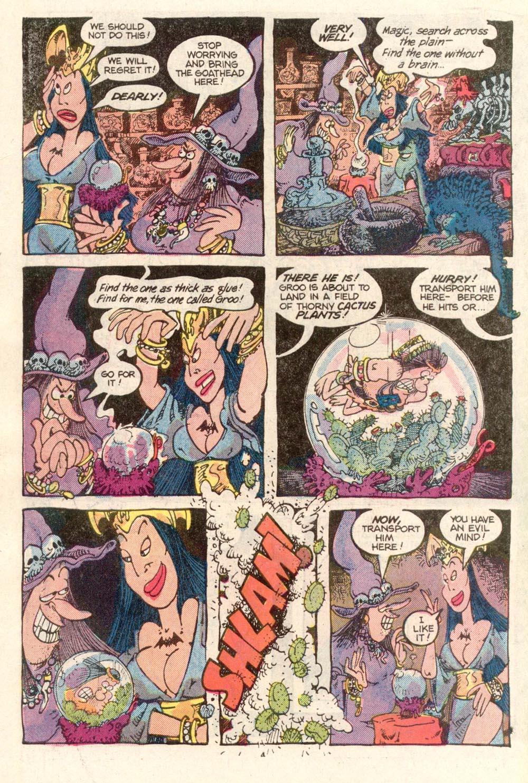 Read online Sergio Aragonés Groo the Wanderer comic -  Issue #26 - 4