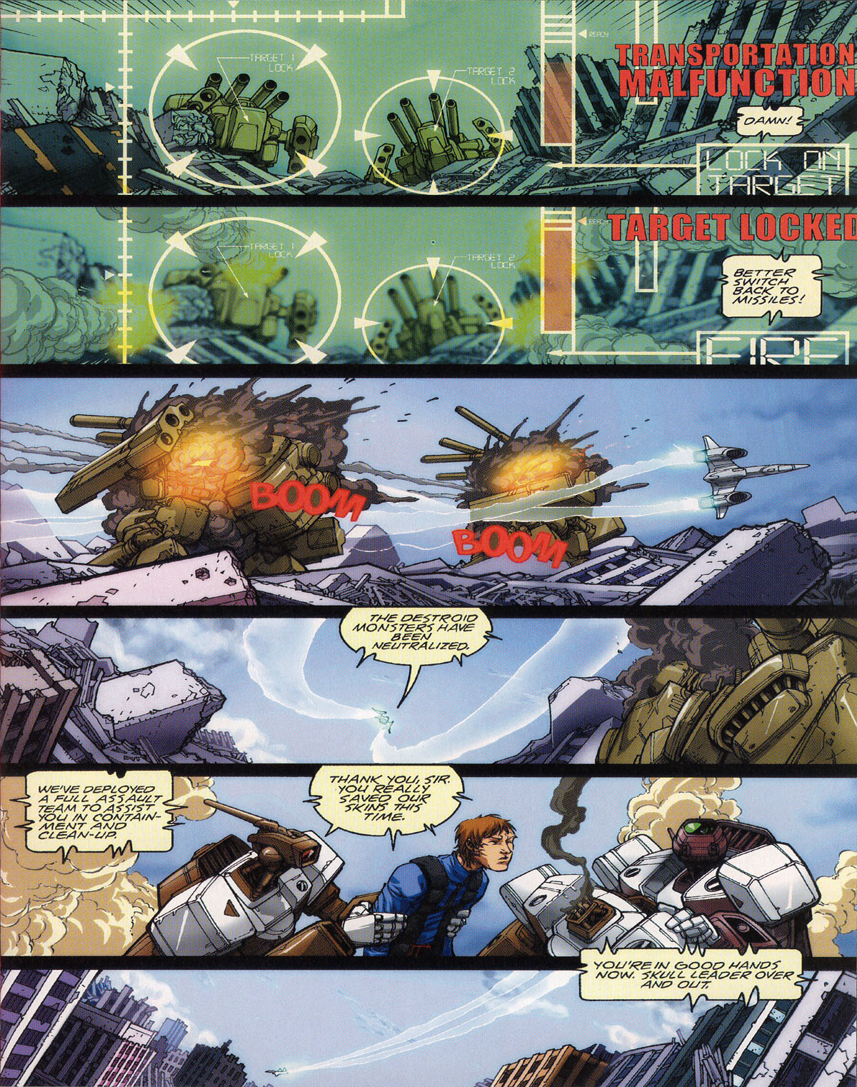 Robotech (2003) issue 0 - Page 9