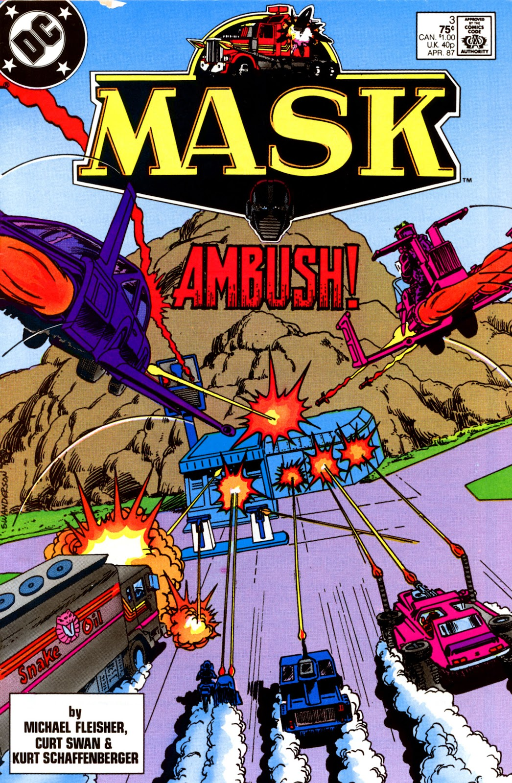 MASK (1987) issue 3 - Page 1