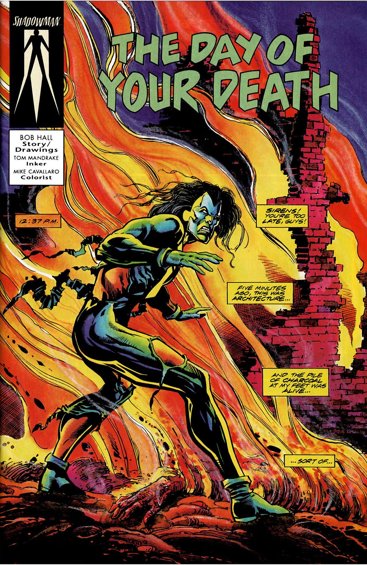 Read online Shadowman (1992) comic -  Issue #11 - 2