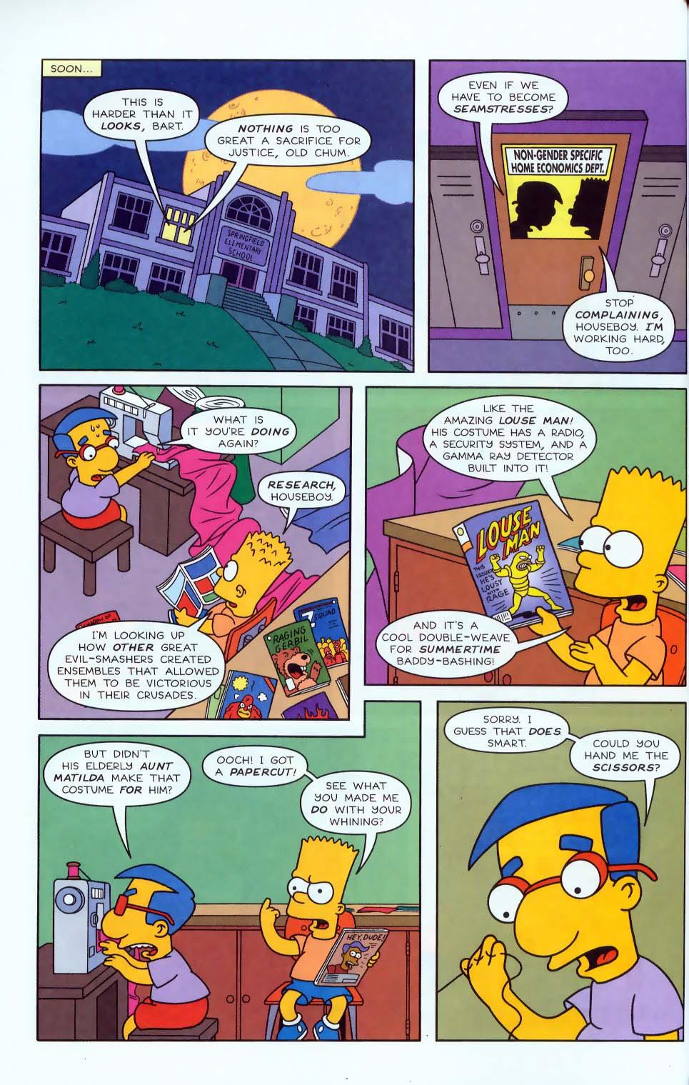 Read online Simpsons Comics comic -  Issue #50 - 31