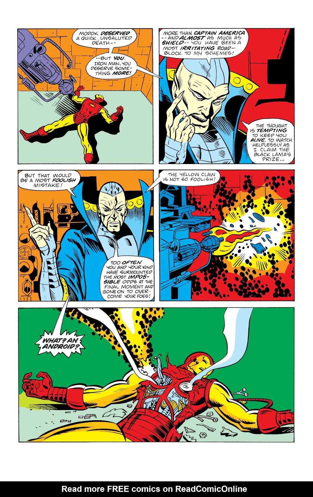 Read online Marvel Masterworks: The Invincible Iron Man comic -  Issue # TPB 10 (Part 2) - 51