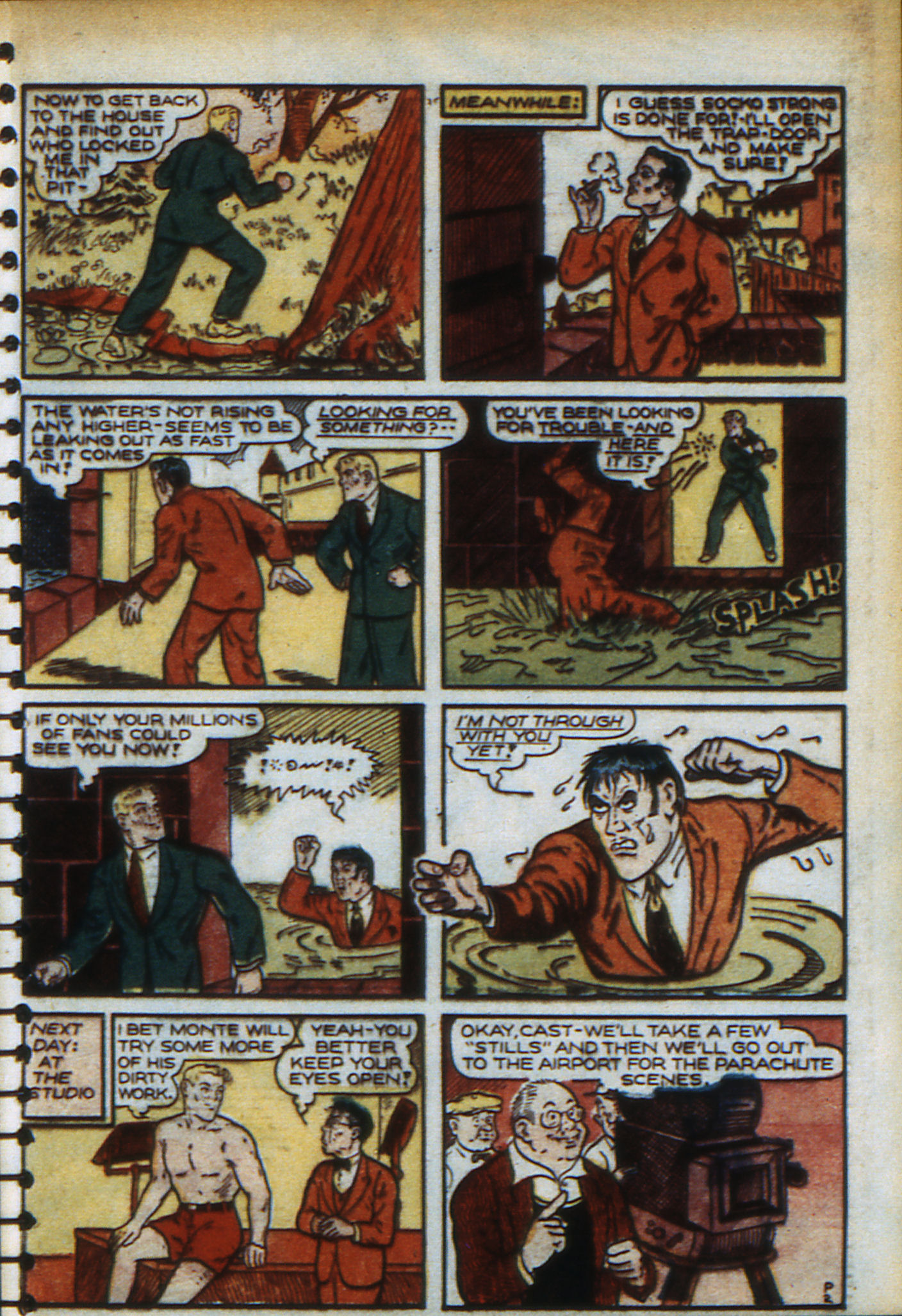 Read online Adventure Comics (1938) comic -  Issue #48 - 38