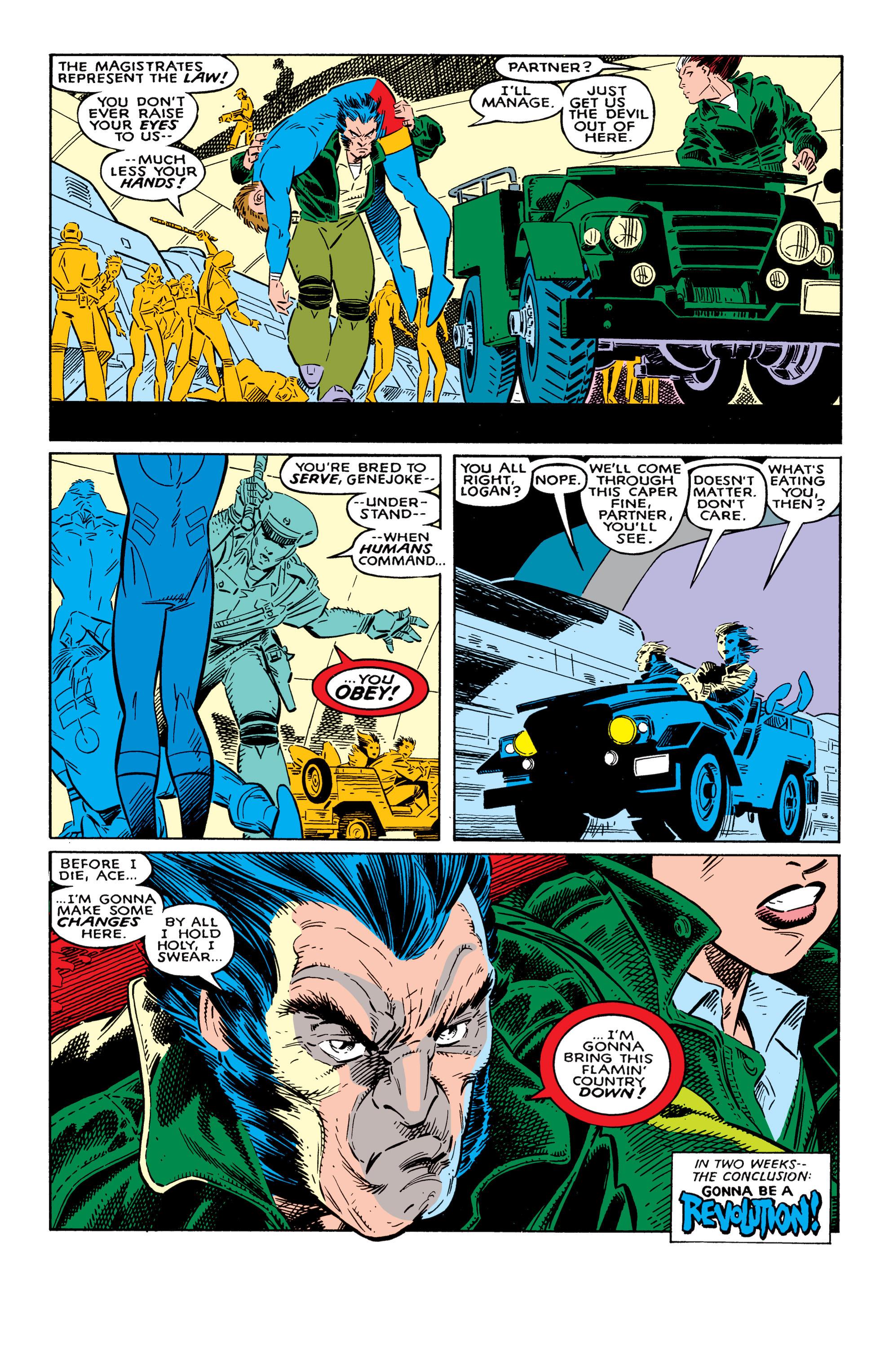 Read online Uncanny X-Men (1963) comic -  Issue #237 - 23