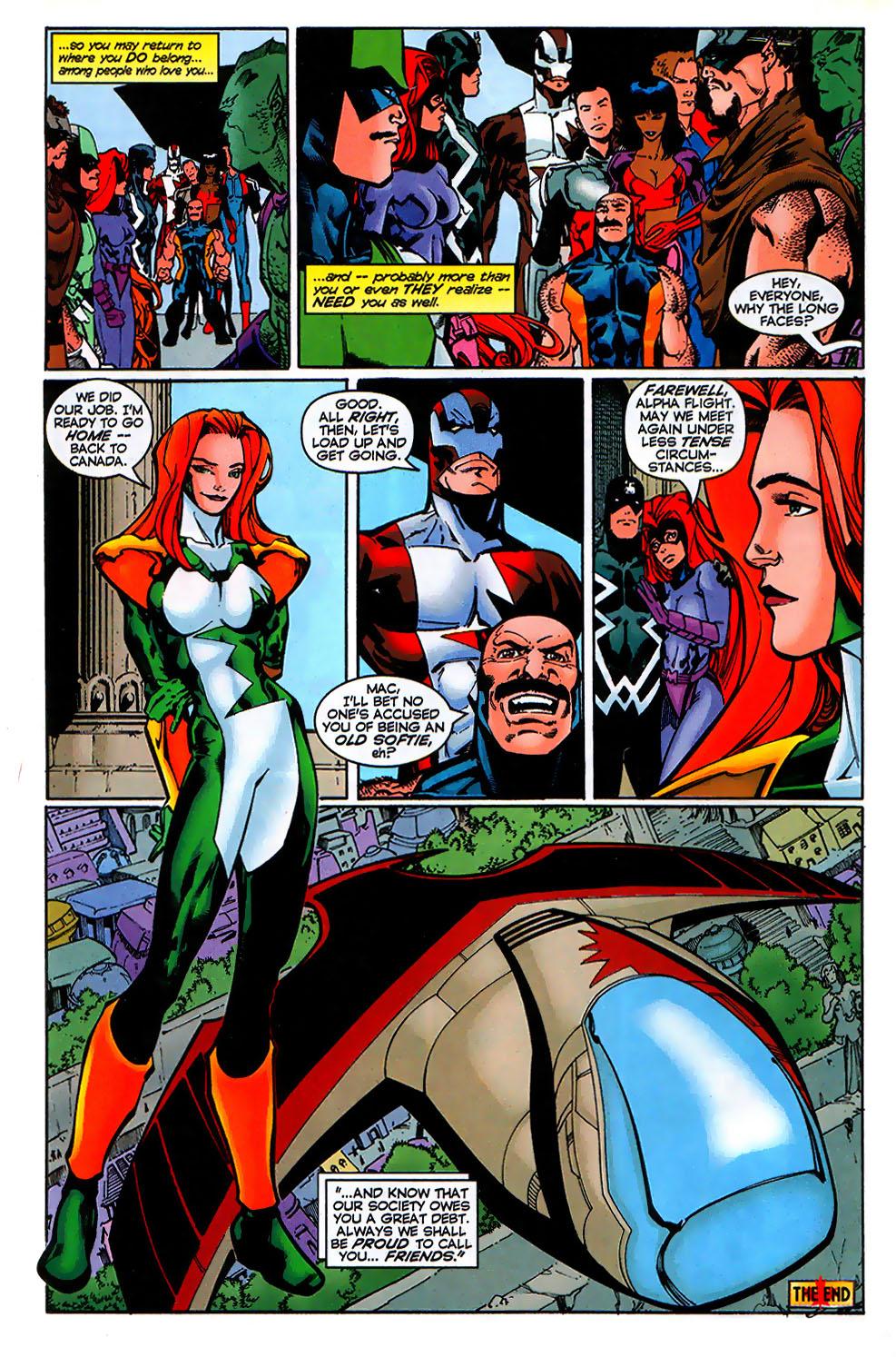 Read online Alpha Flight (1997) comic -  Issue # _Annual - 41