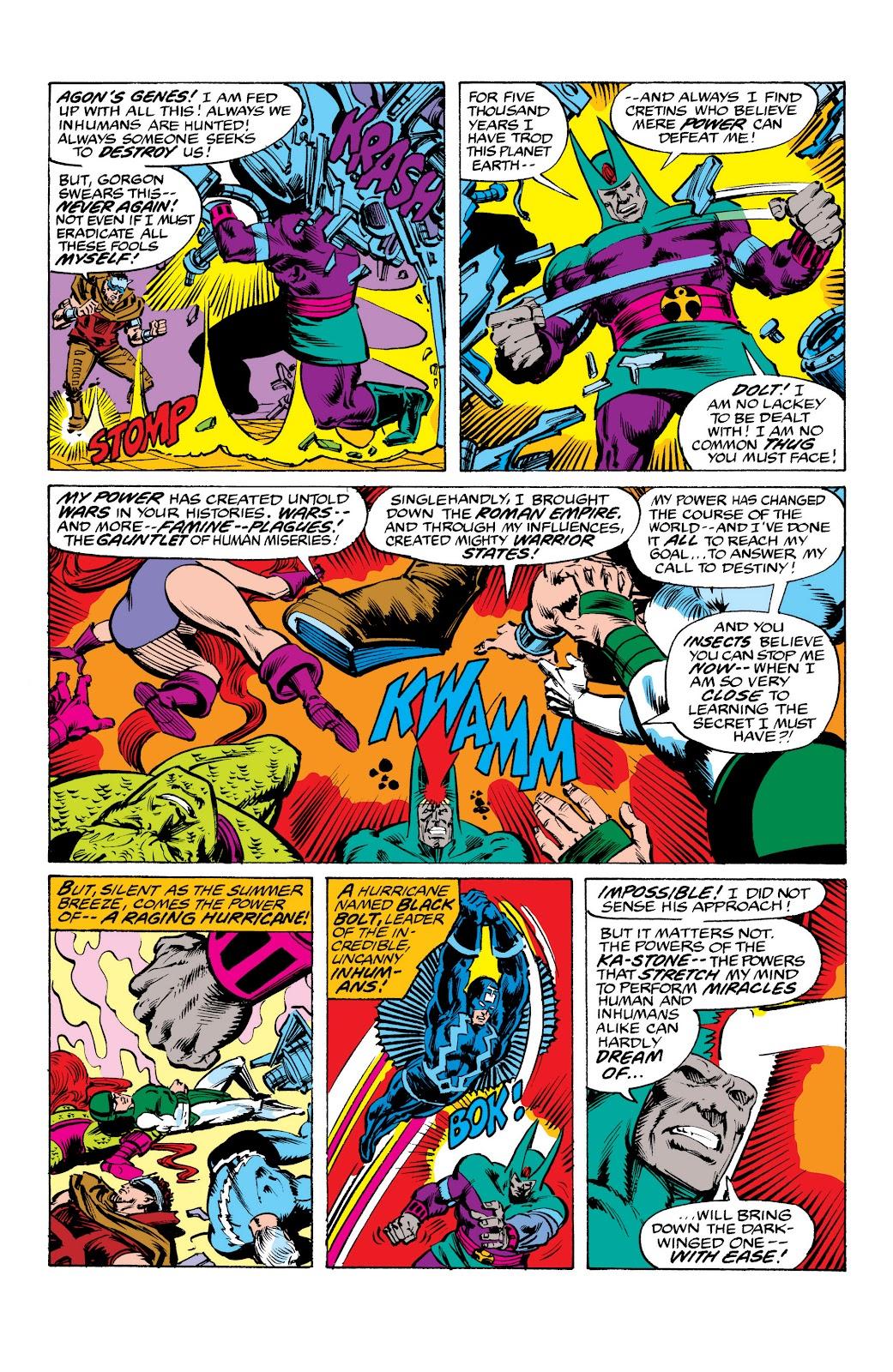 Read online Marvel Masterworks: The Inhumans comic -  Issue # TPB 2 (Part 3) - 76
