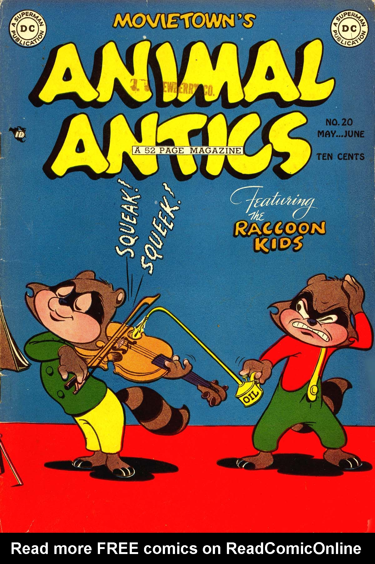 Animal Antics 20 Page 1