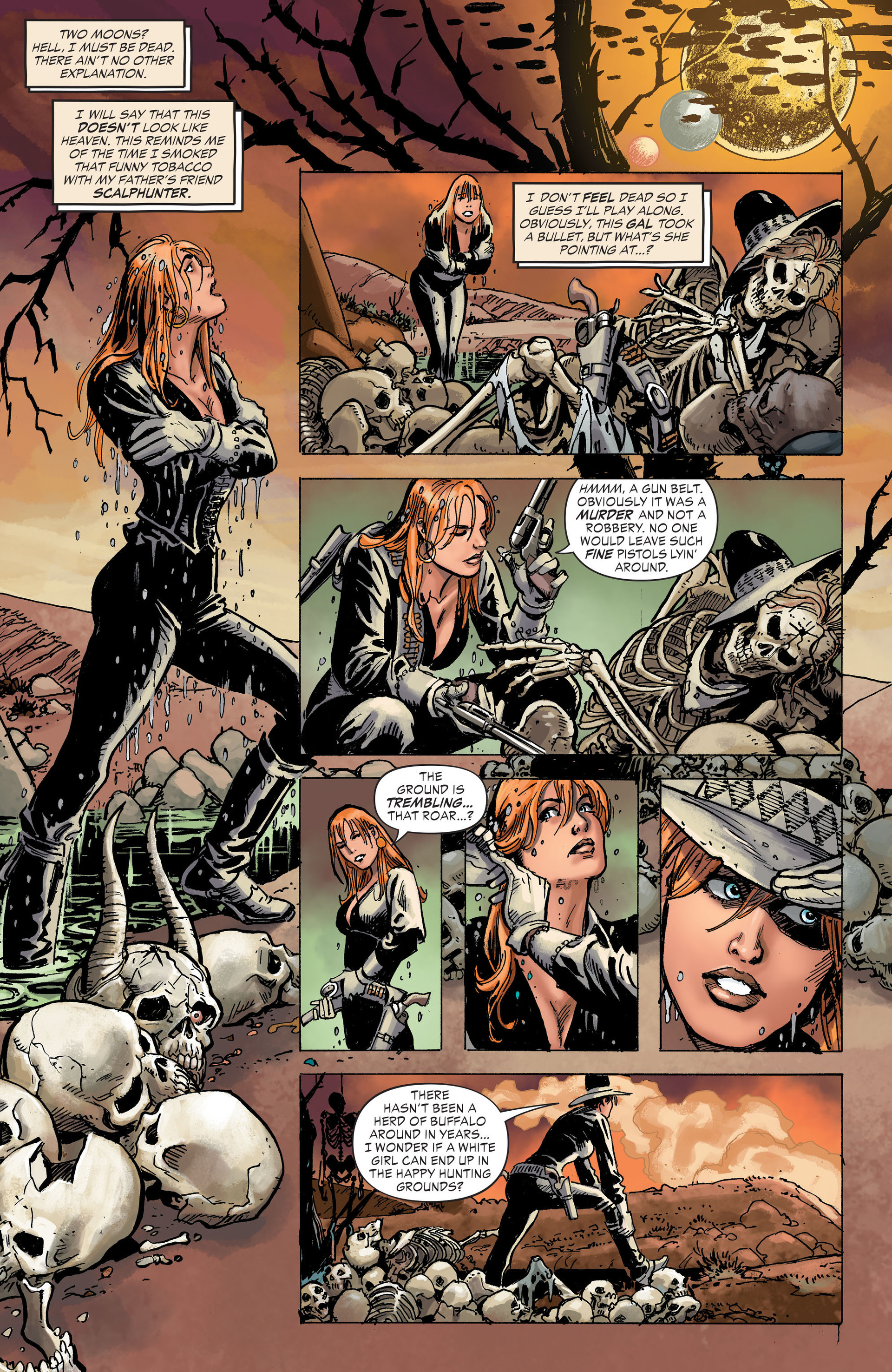 Read online All-Star Western (2011) comic -  Issue #31 - 15