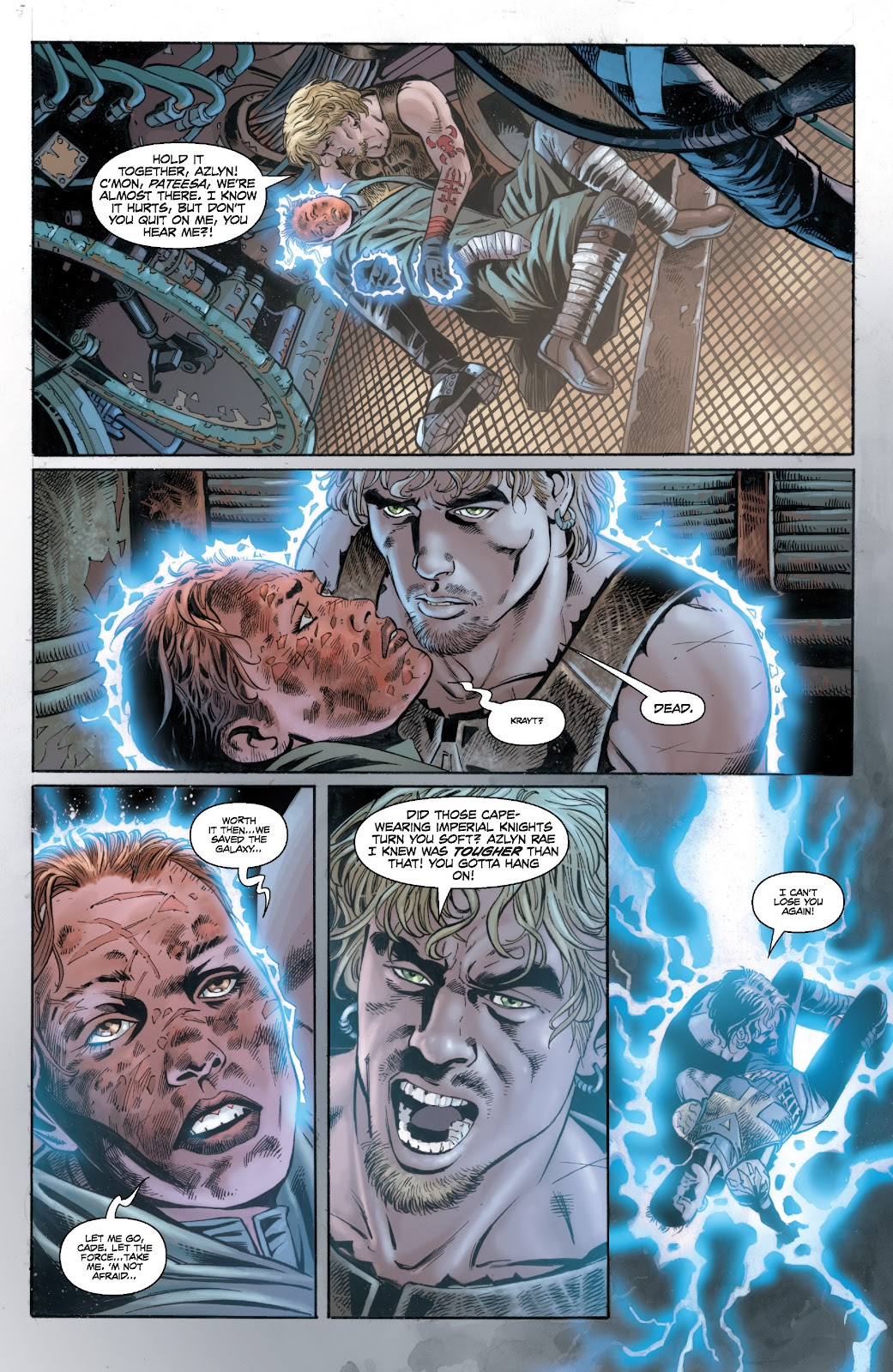 Read online Star Wars Legends: Legacy - Epic Collection comic -  Issue # TPB 2 (Part 4) - 45