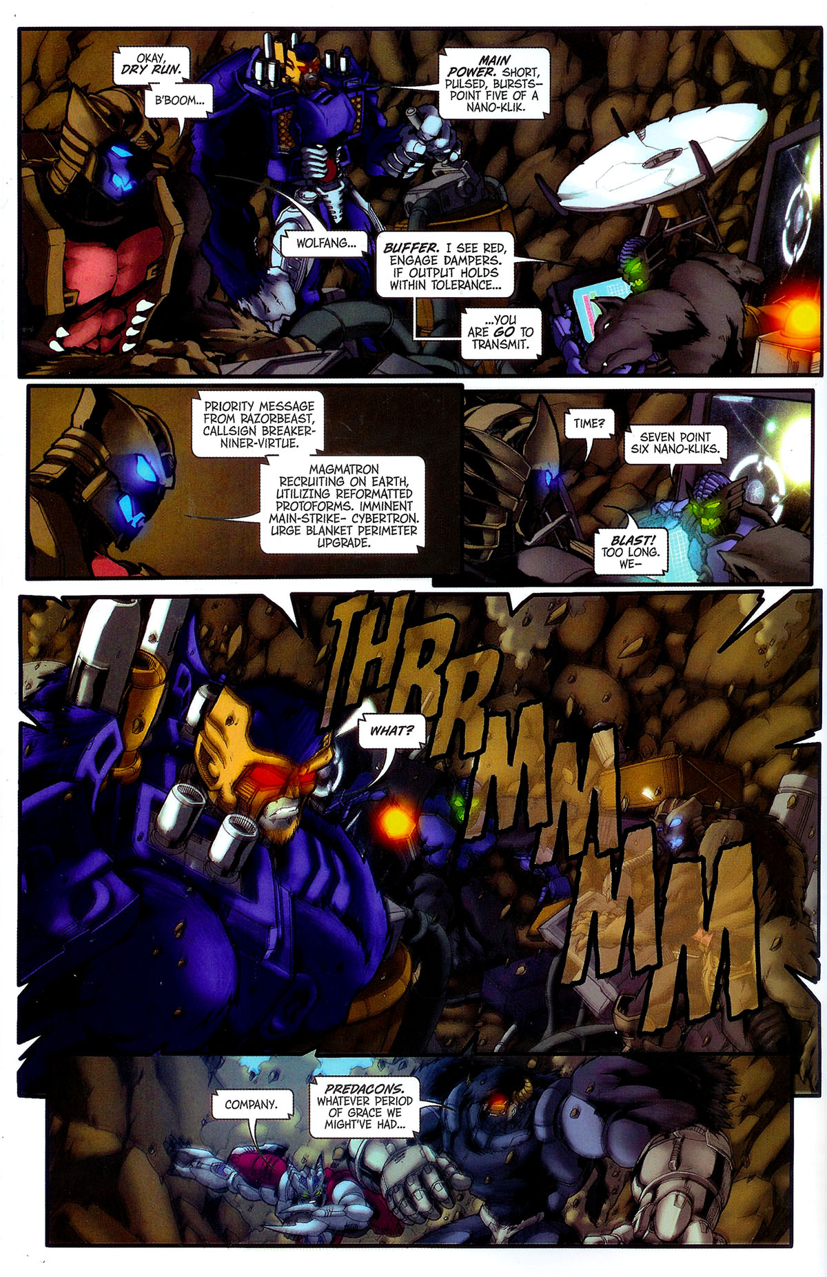 Read online Transformers, Beast Wars: The Gathering comic -  Issue #4 - 15