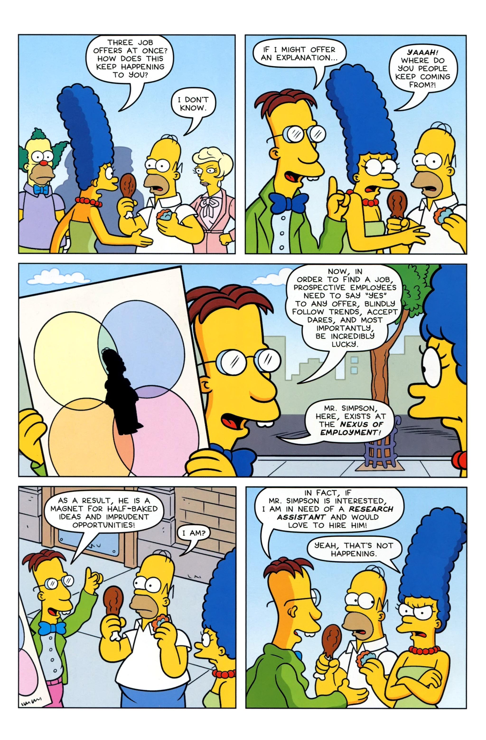 Read online Simpsons Comics comic -  Issue #223 - 8