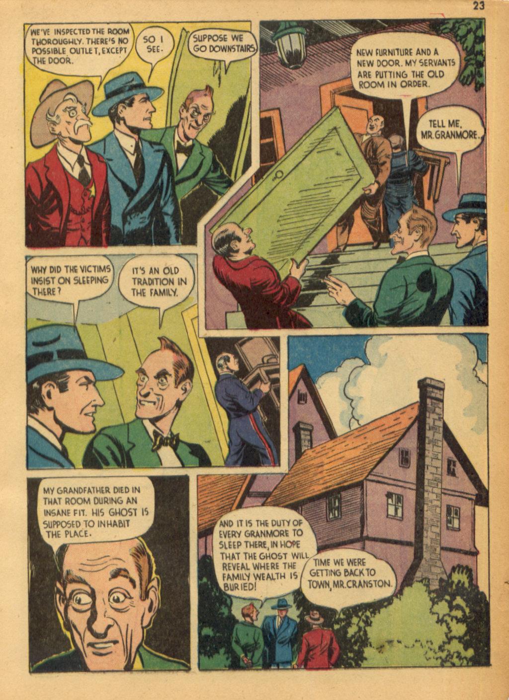 Read online Shadow Comics comic -  Issue #32 - 24