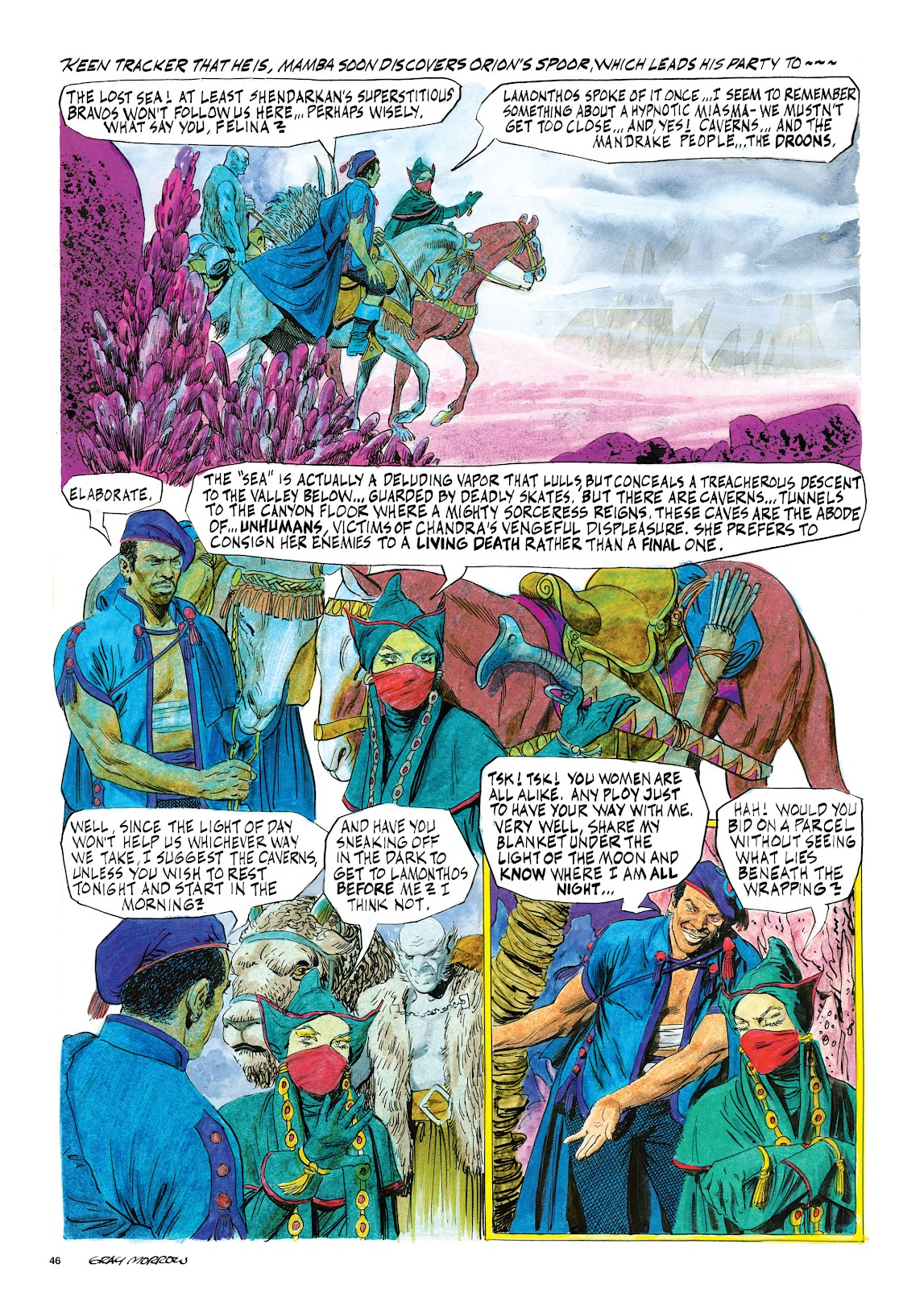 Read online Orion and Edge of Chaos comic -  Issue # TPB - 47