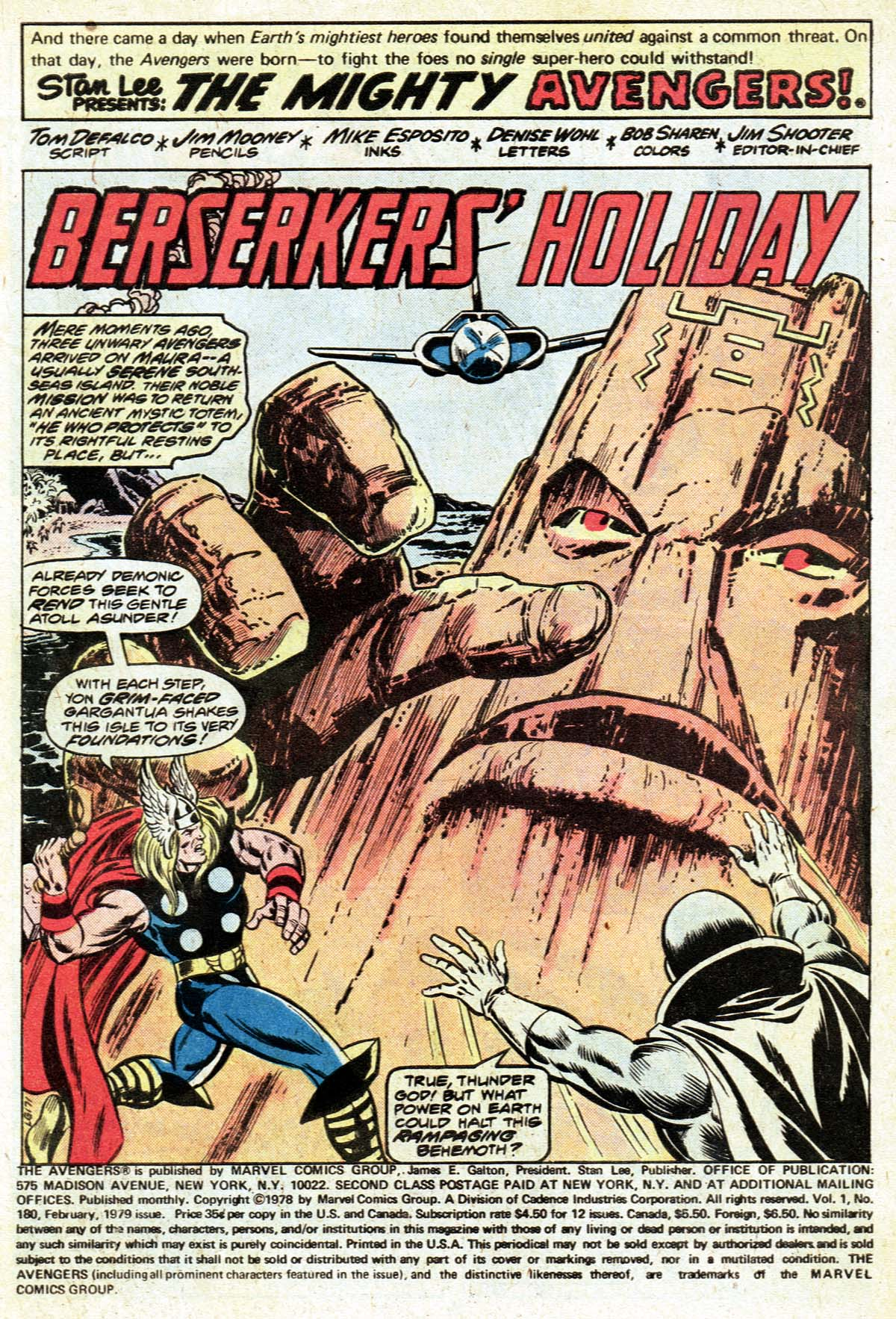 The Avengers (1963) 180 Page 1
