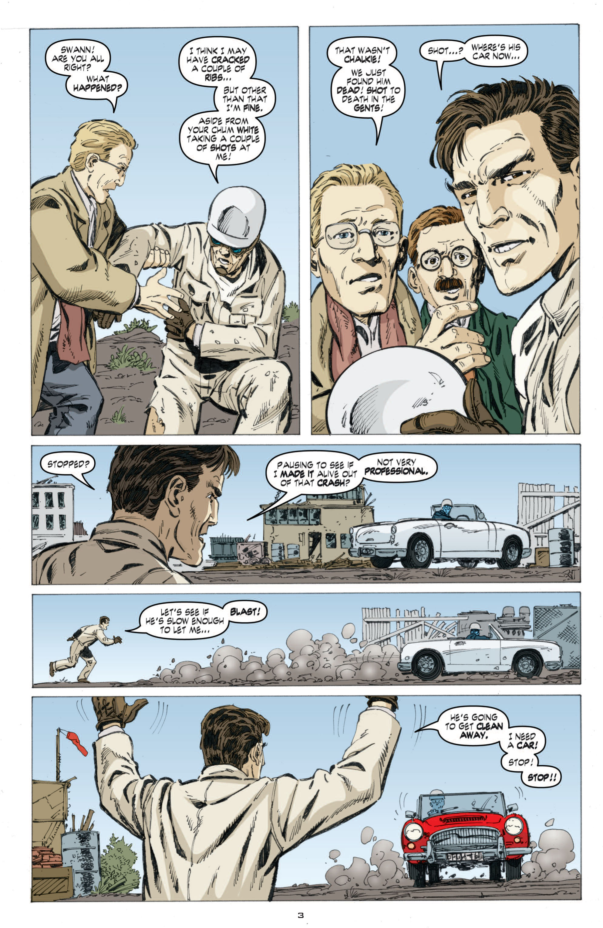 Read online Cold War comic -  Issue # TPB - 61