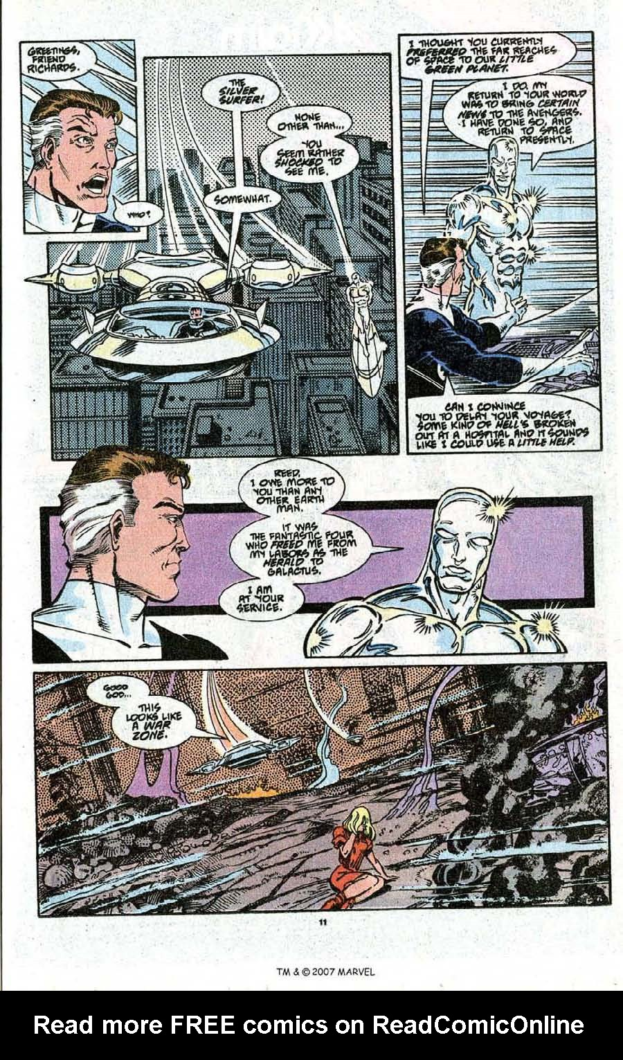 Read online Silver Surfer (1987) comic -  Issue # _Annual 3 - 13