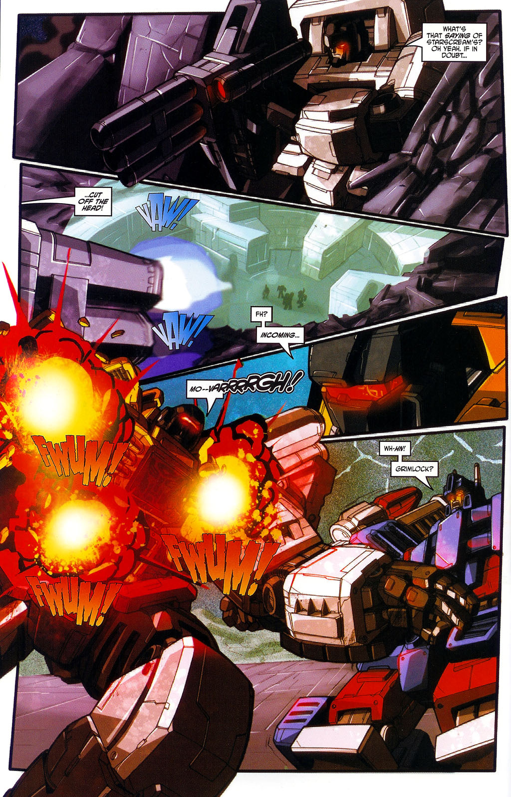 """Read online Transformers War Within: """"The Age of Wrath"""" comic -  Issue #1 - 23"""