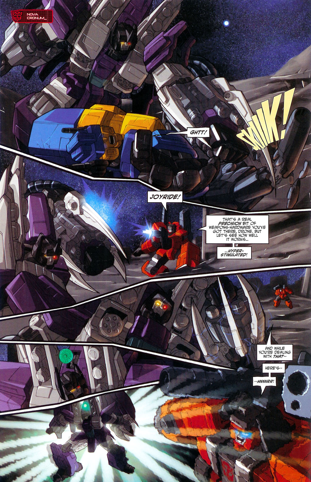 """Read online Transformers War Within: """"The Age of Wrath"""" comic -  Issue #3 - 14"""