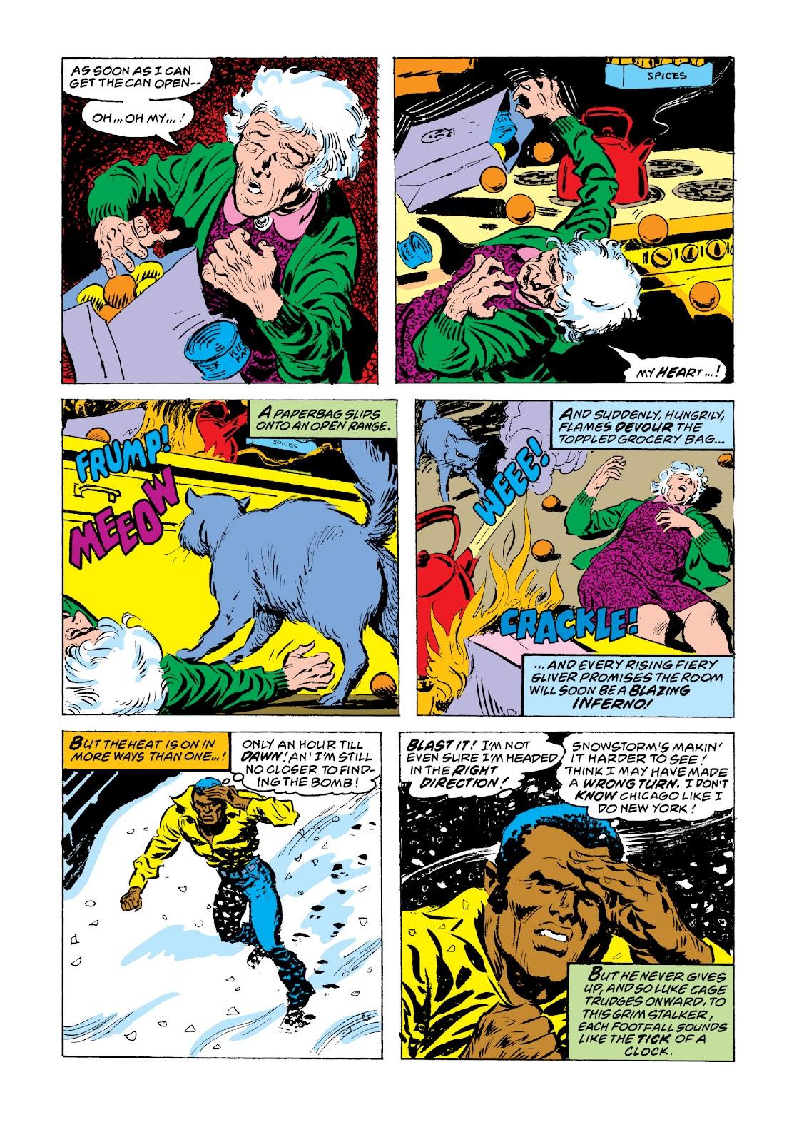 Read online Marvel Masterworks: Luke Cage, Power Man comic -  Issue # TPB 3 (Part 3) - 91