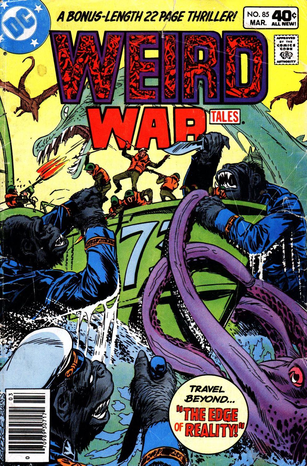 Weird War Tales (1971) issue 85 - Page 1