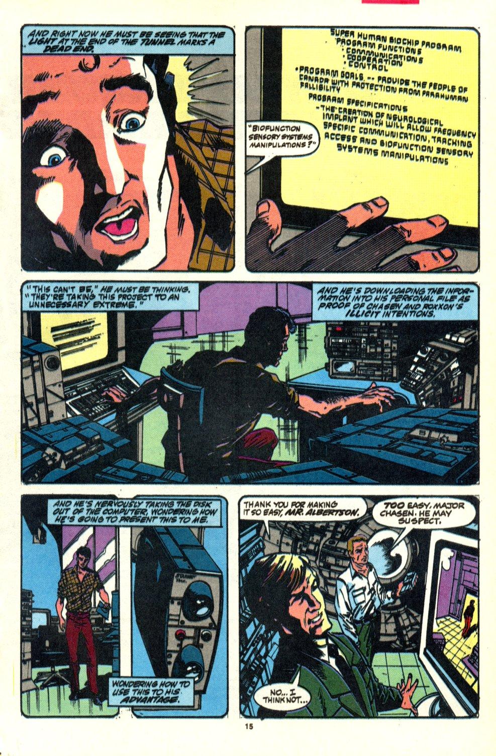 Read online Alpha Flight (1983) comic -  Issue #92 - 13