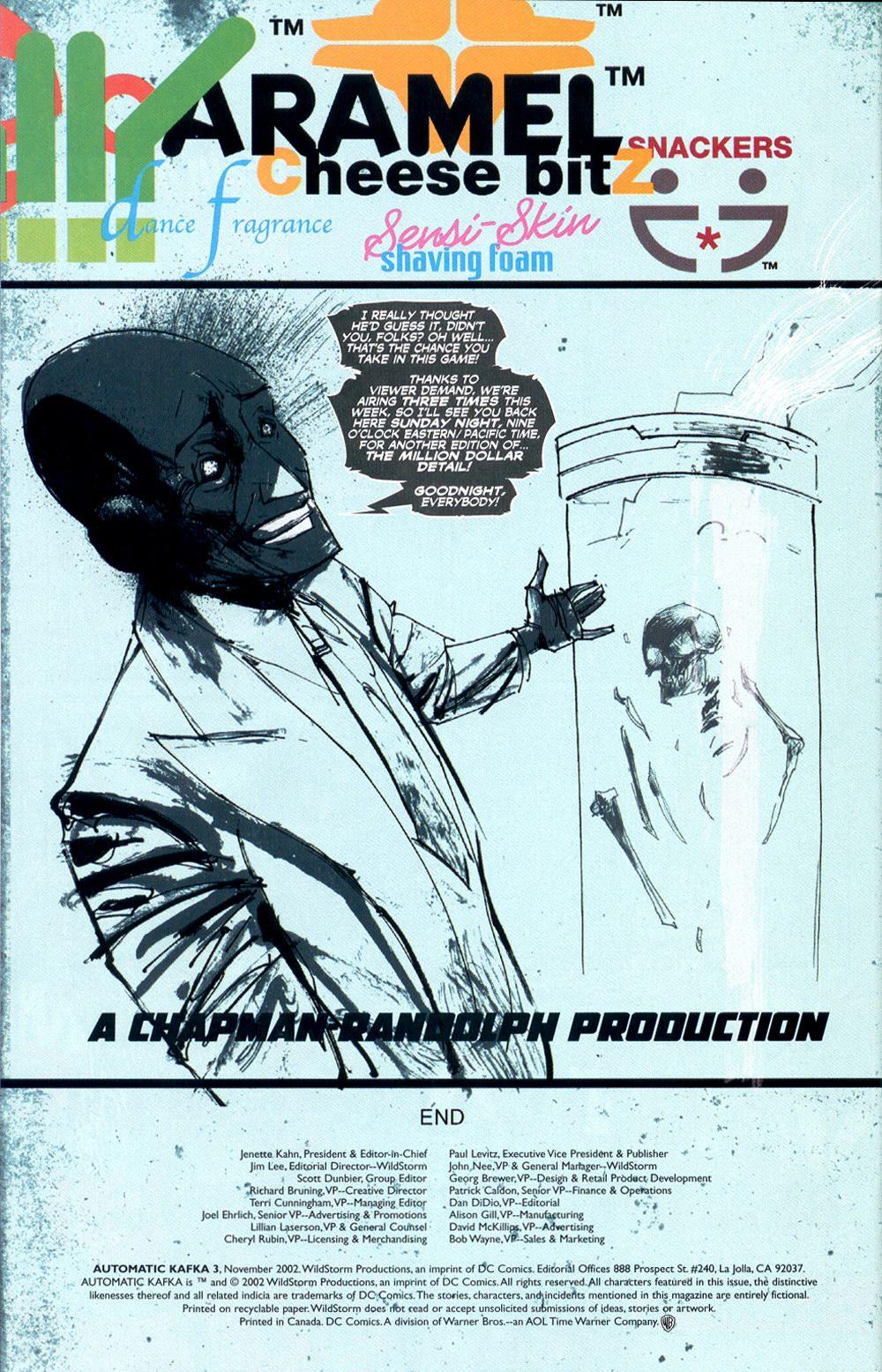 Read online Automatic Kafka comic -  Issue #3 - 24