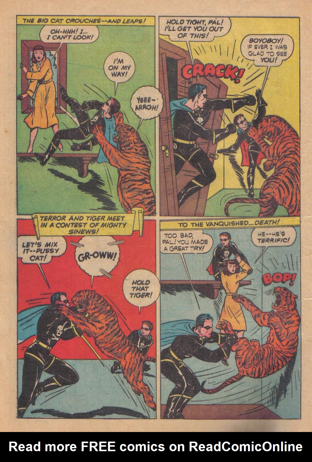 Exciting Comics (1940) issue 13 - Page 12