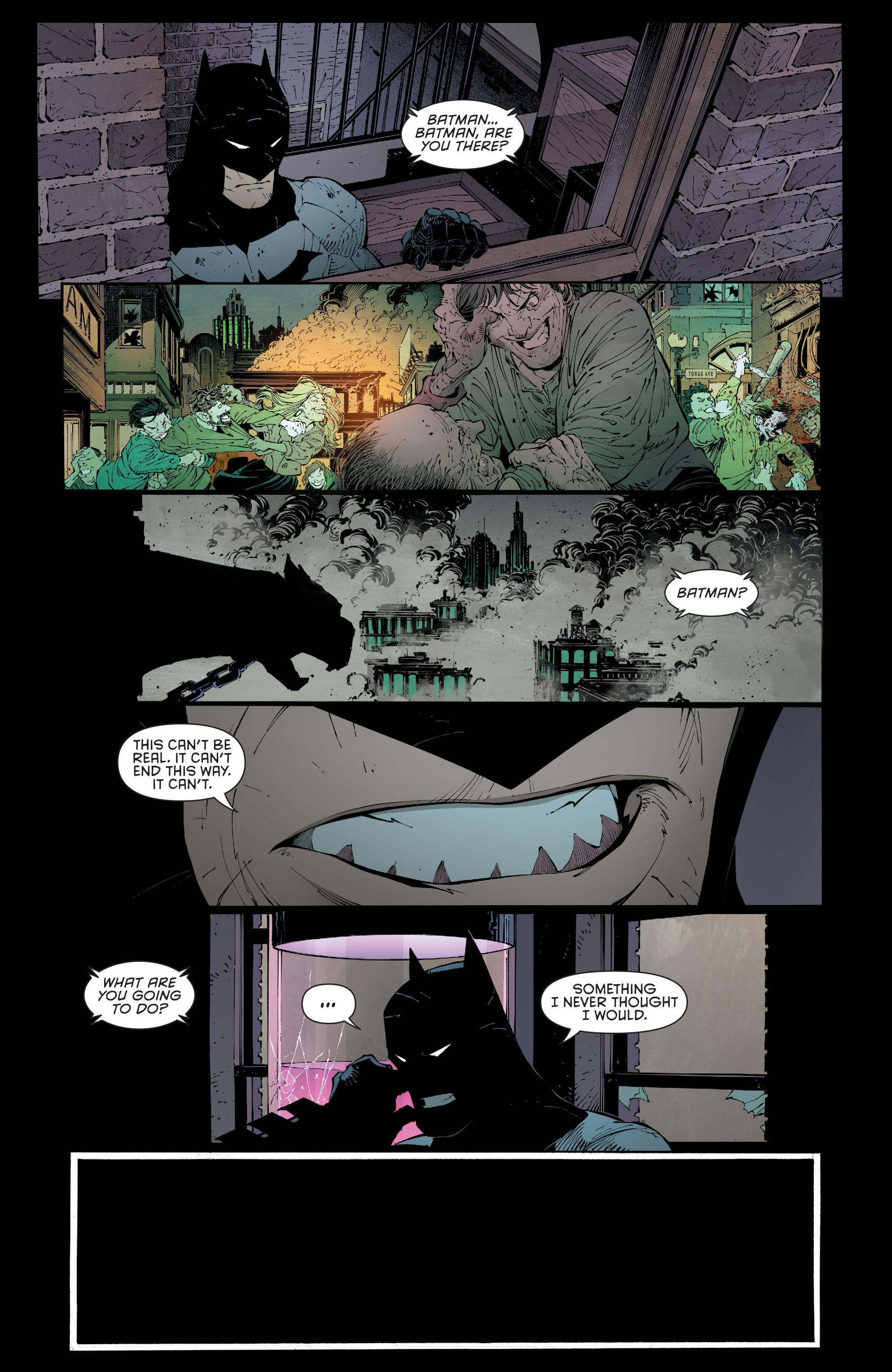 Read online Batman (2011) comic -  Issue # _TPB 7 - 99