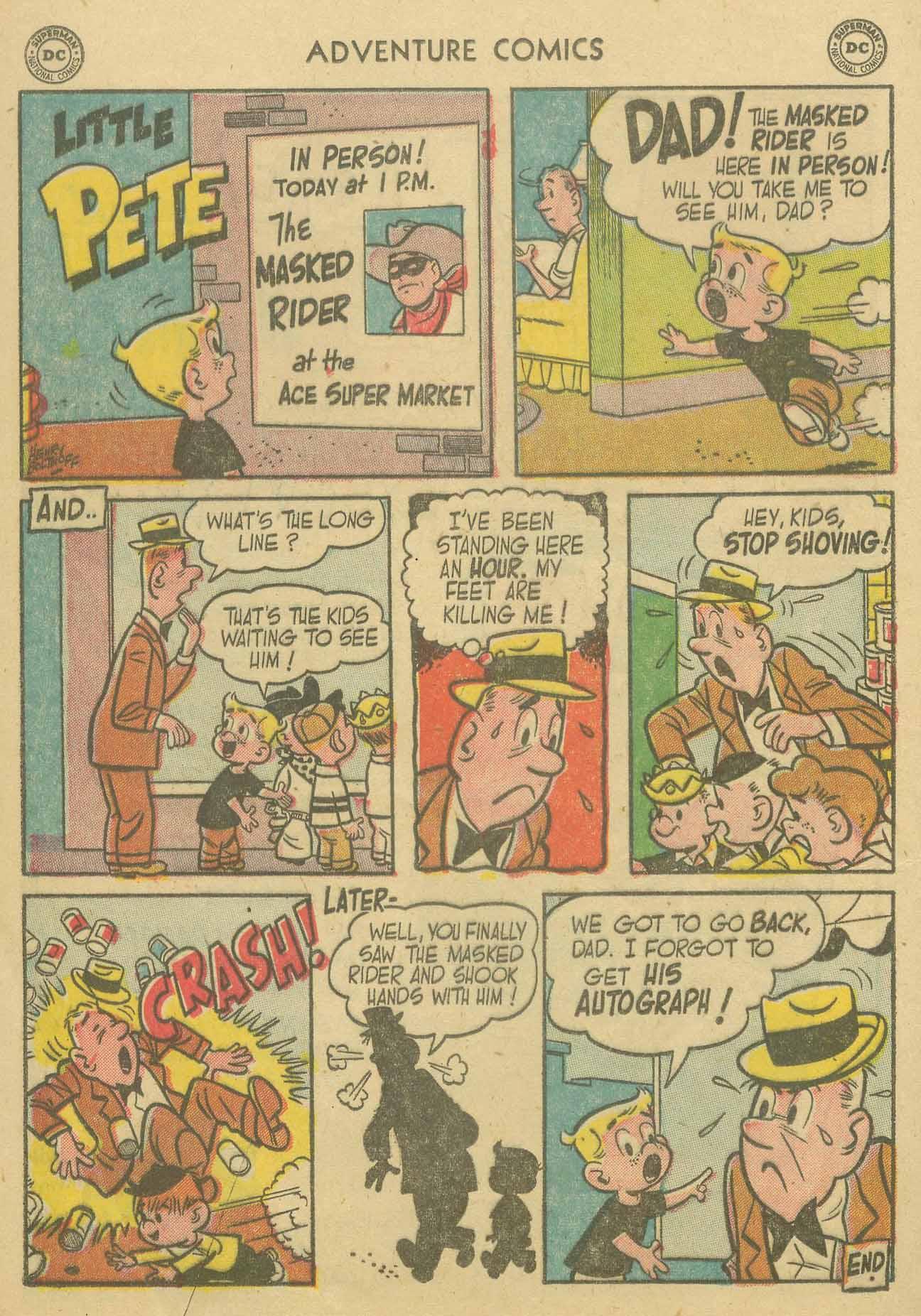 Read online Adventure Comics (1938) comic -  Issue #205 - 25