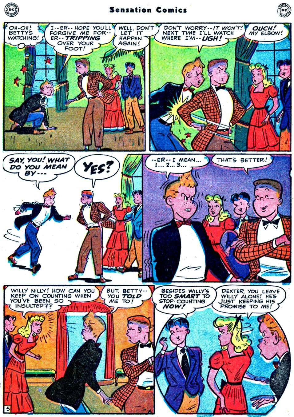 Read online Sensation (Mystery) Comics comic -  Issue #91 - 31