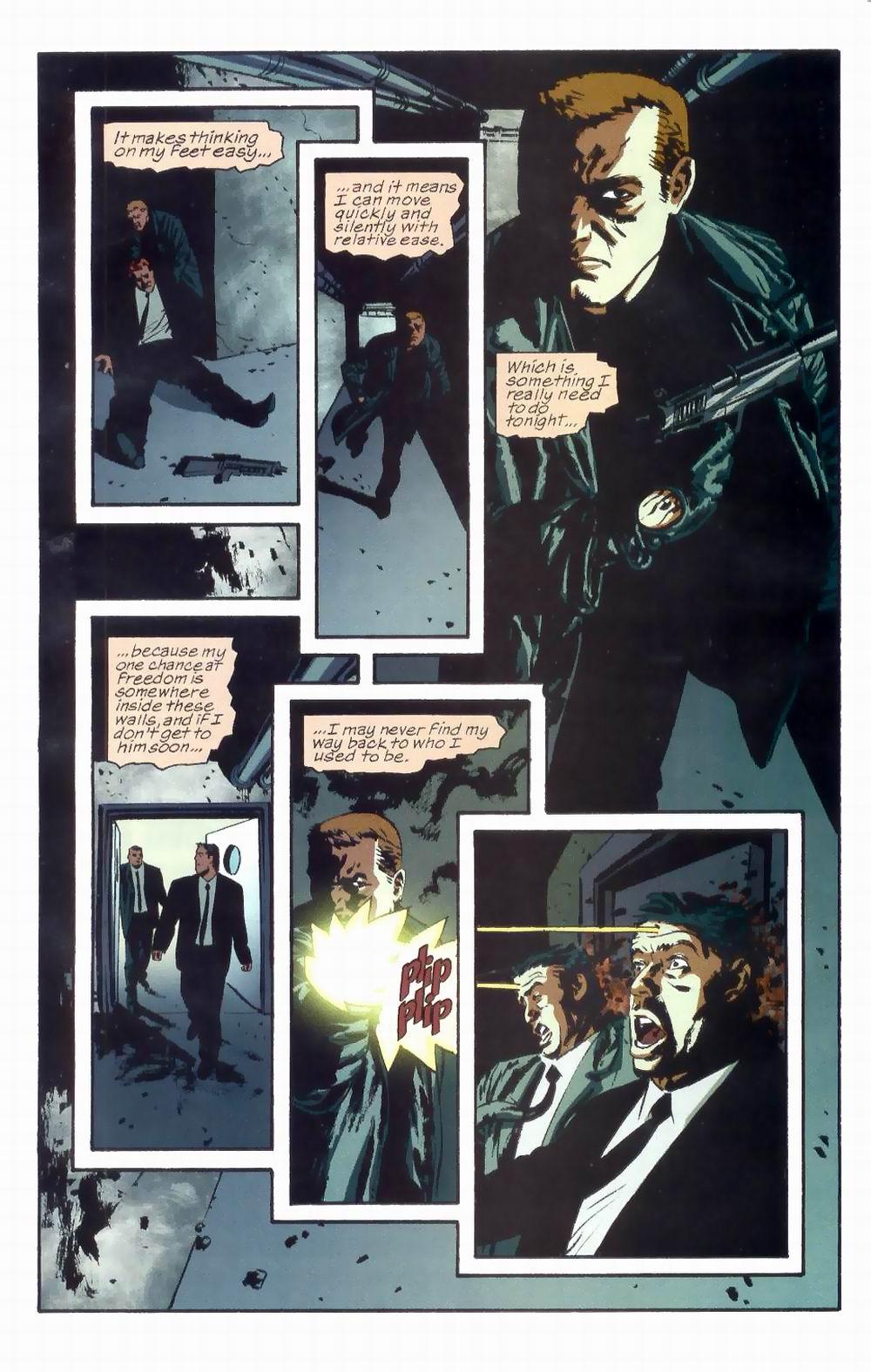 Read online Sleeper comic -  Issue #8 - 4